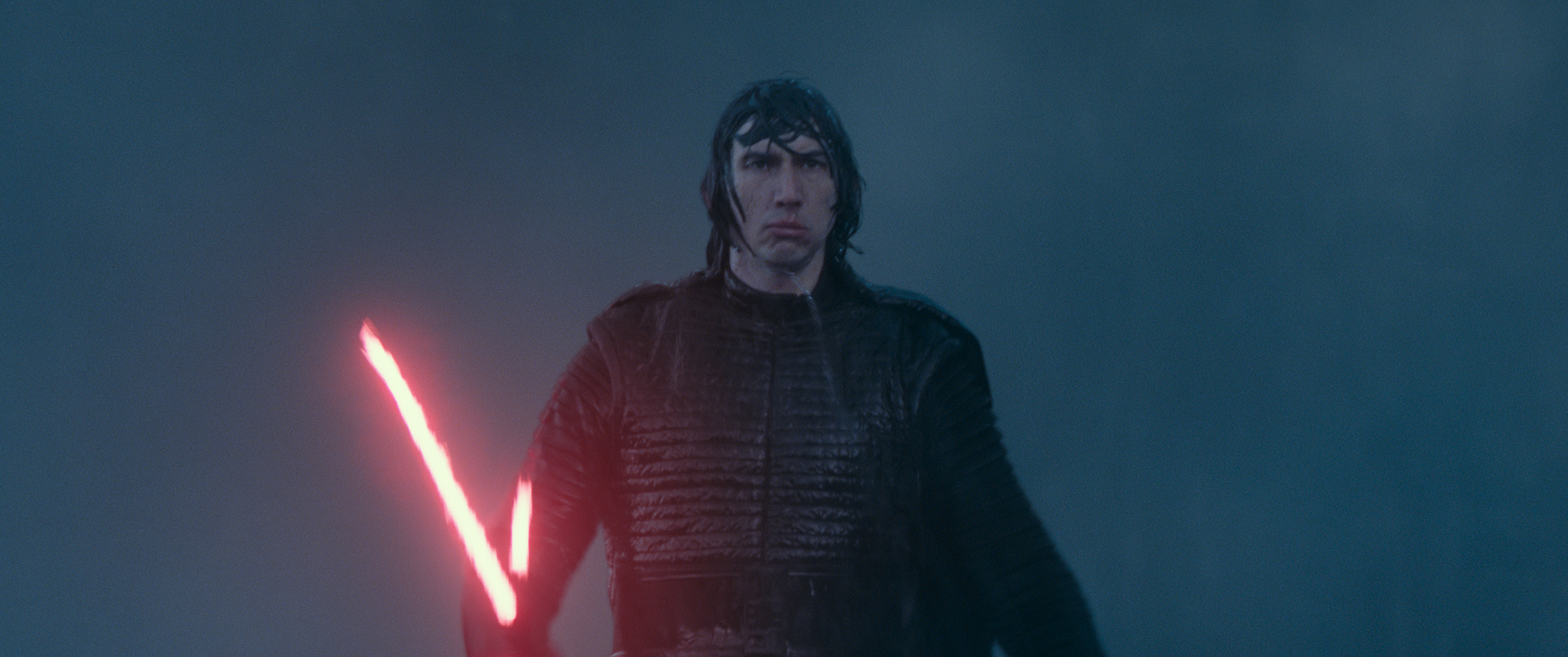 Kylo Ren prepares for yet another fight with Rey.