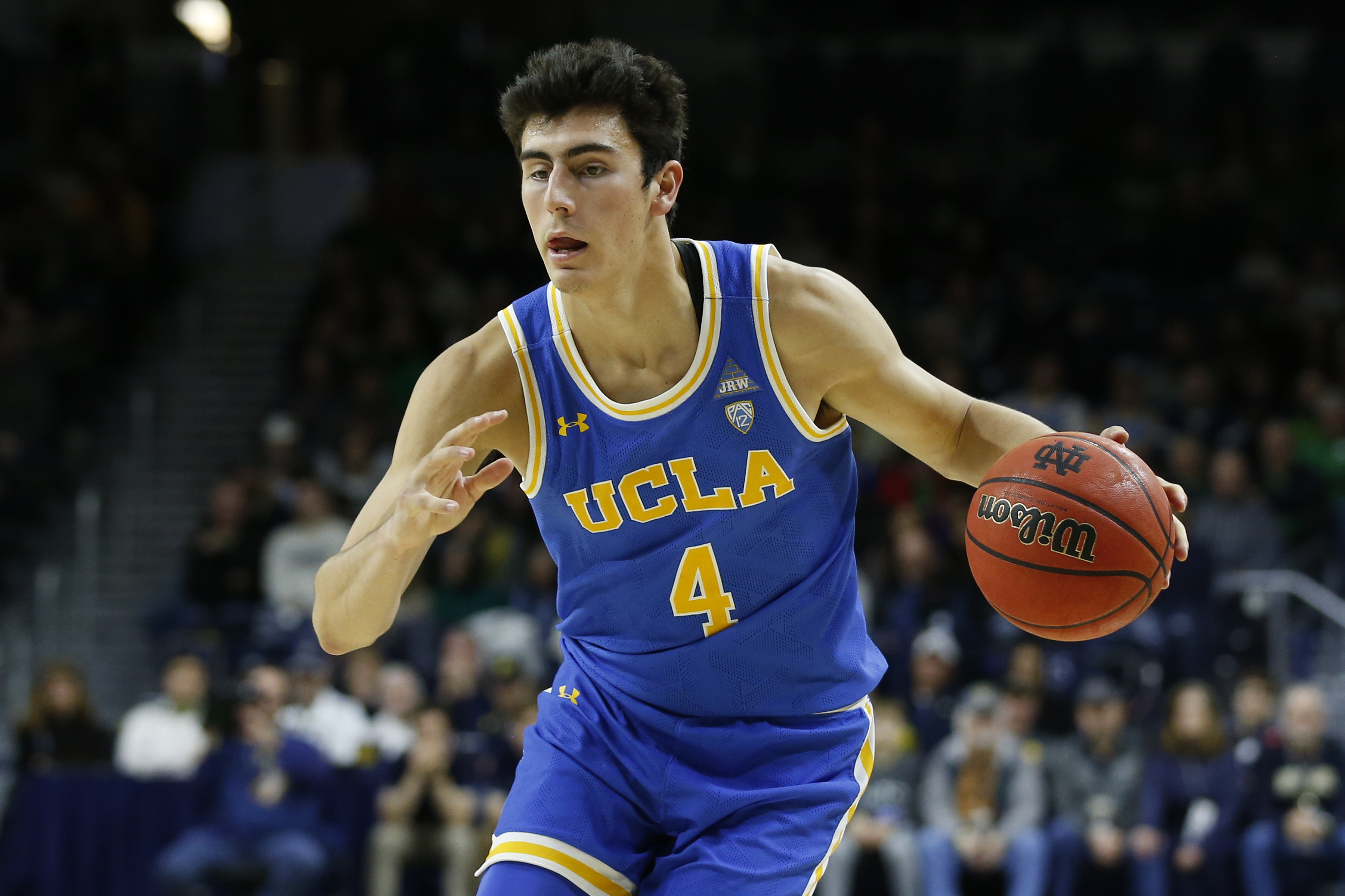 COLLEGE BASKETBALL: DEC 14 UCLA at Notre Dame