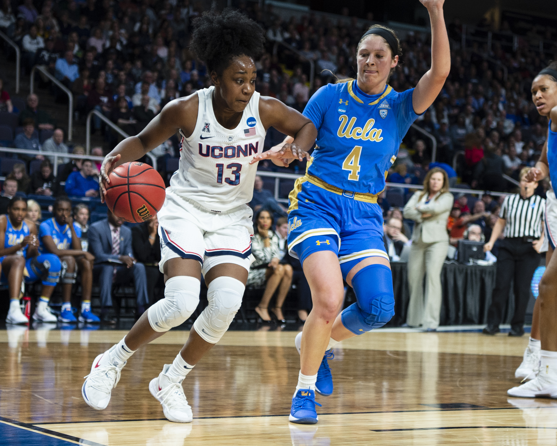 NCAA BASKETBALL: MAR 29 Div I Women's Championship - Third Round - UCLA v Connecticut