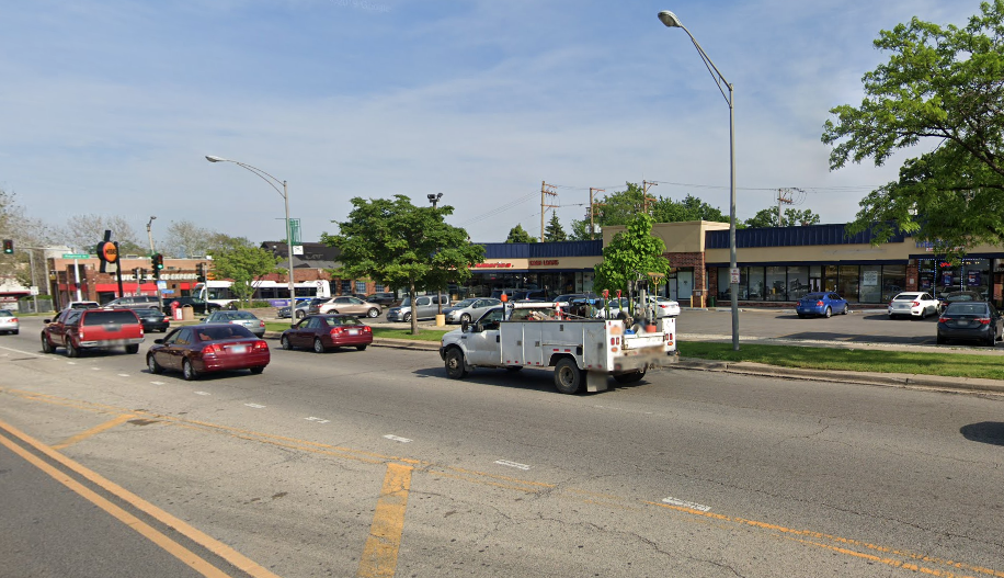 The 6300 block of West North Avenue