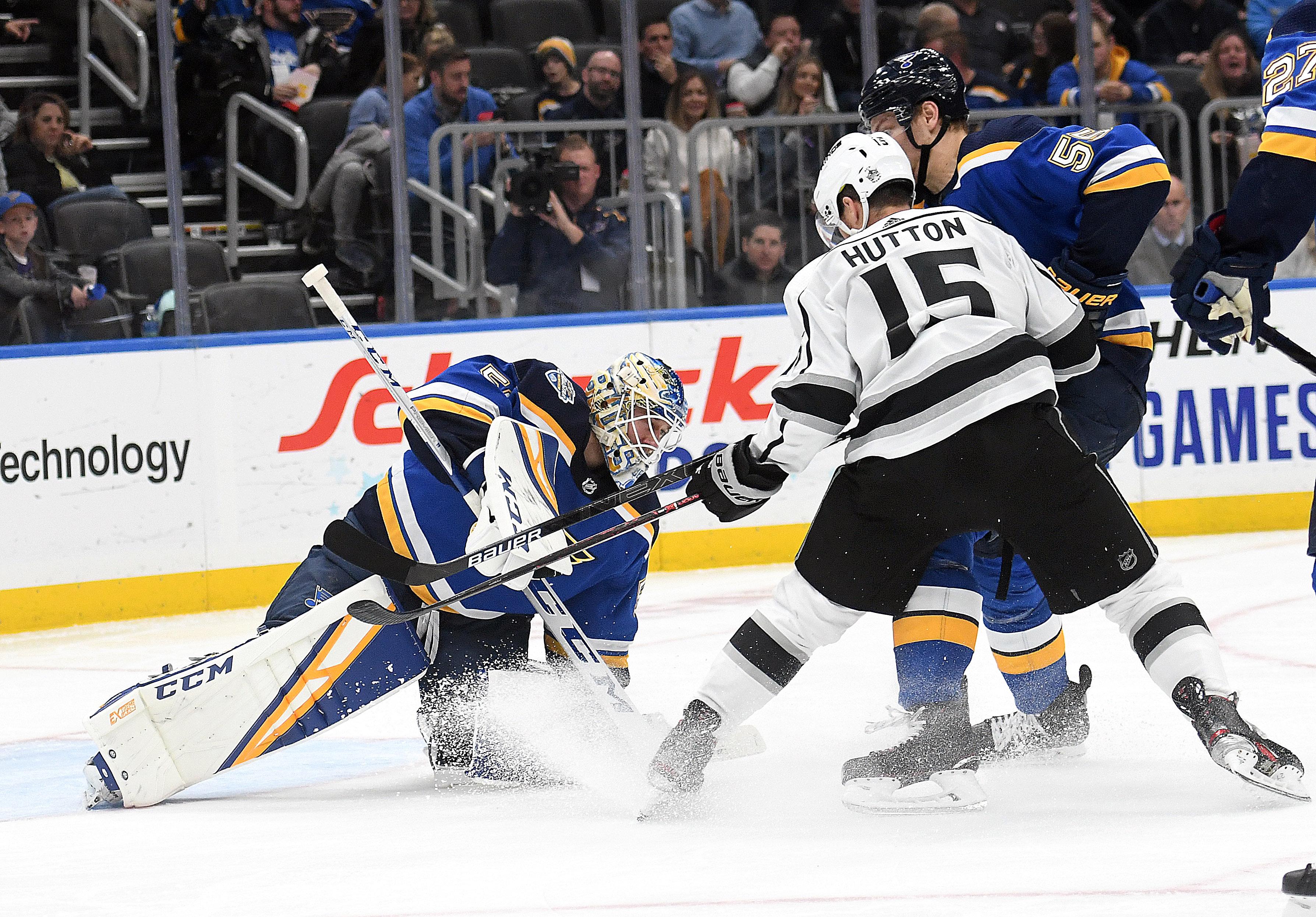 NHL: OCT 24 Kings at Blues