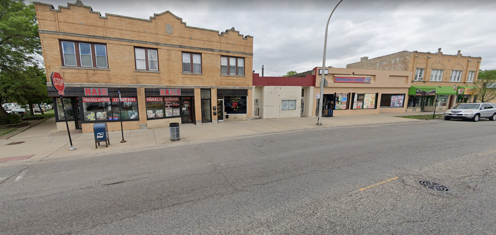One of two armed robberies that happened Dec. 9, 2019 on the North Side was in the 6300 block of West Grand Avenue.