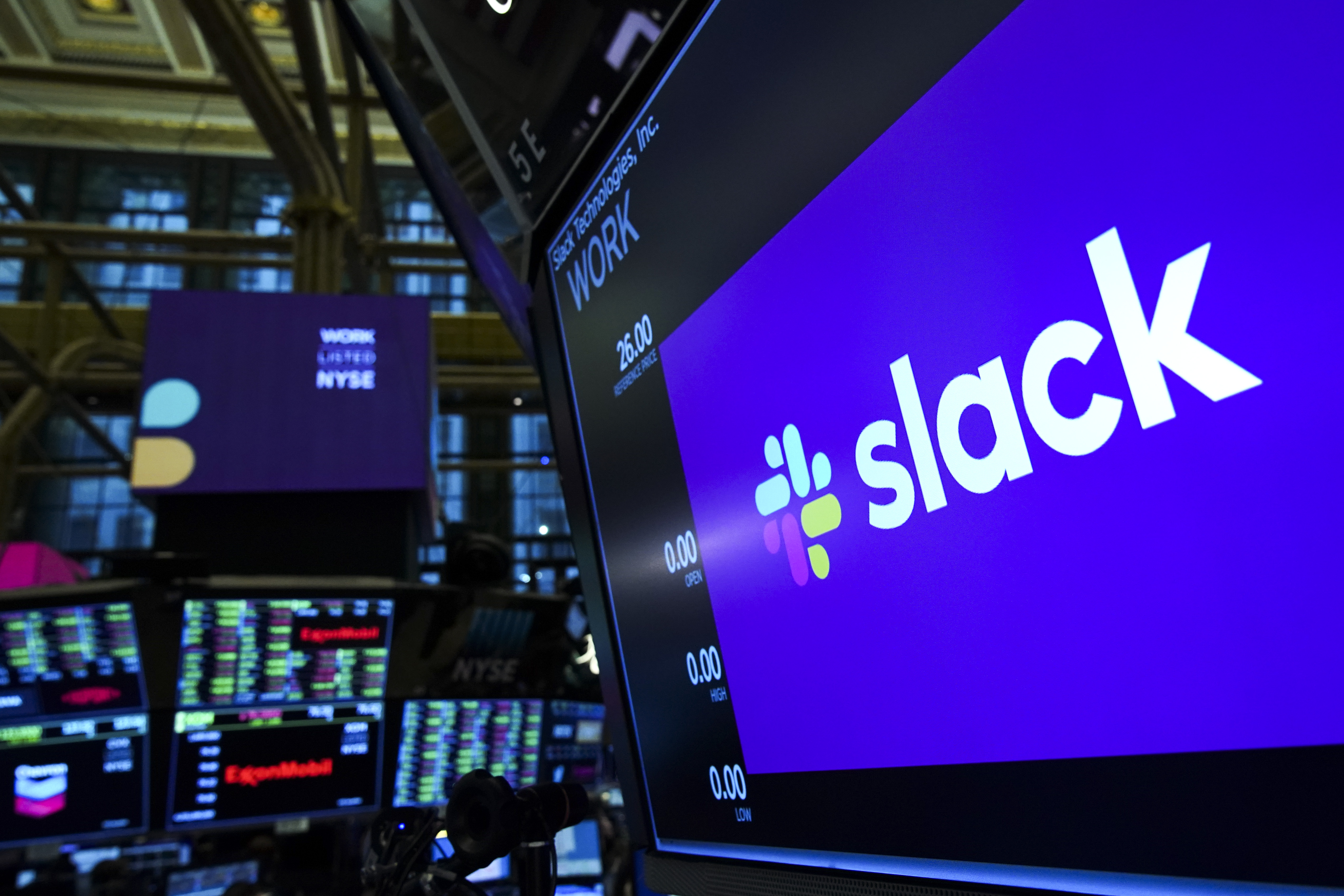 Workplace Messaging App Slack Listed On New York Stock Exchange