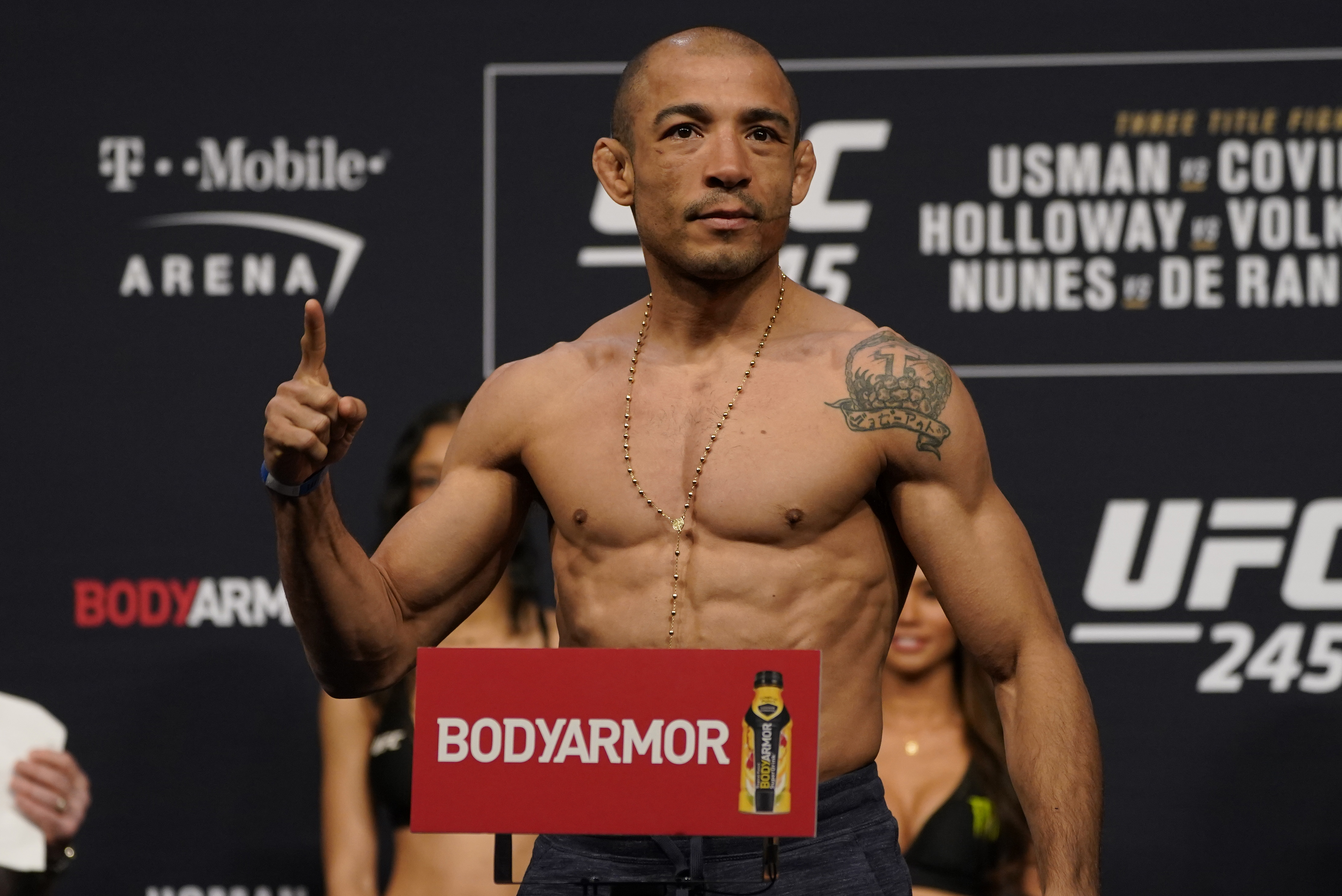 UFC 245 Usman v Covington: Weigh-Ins