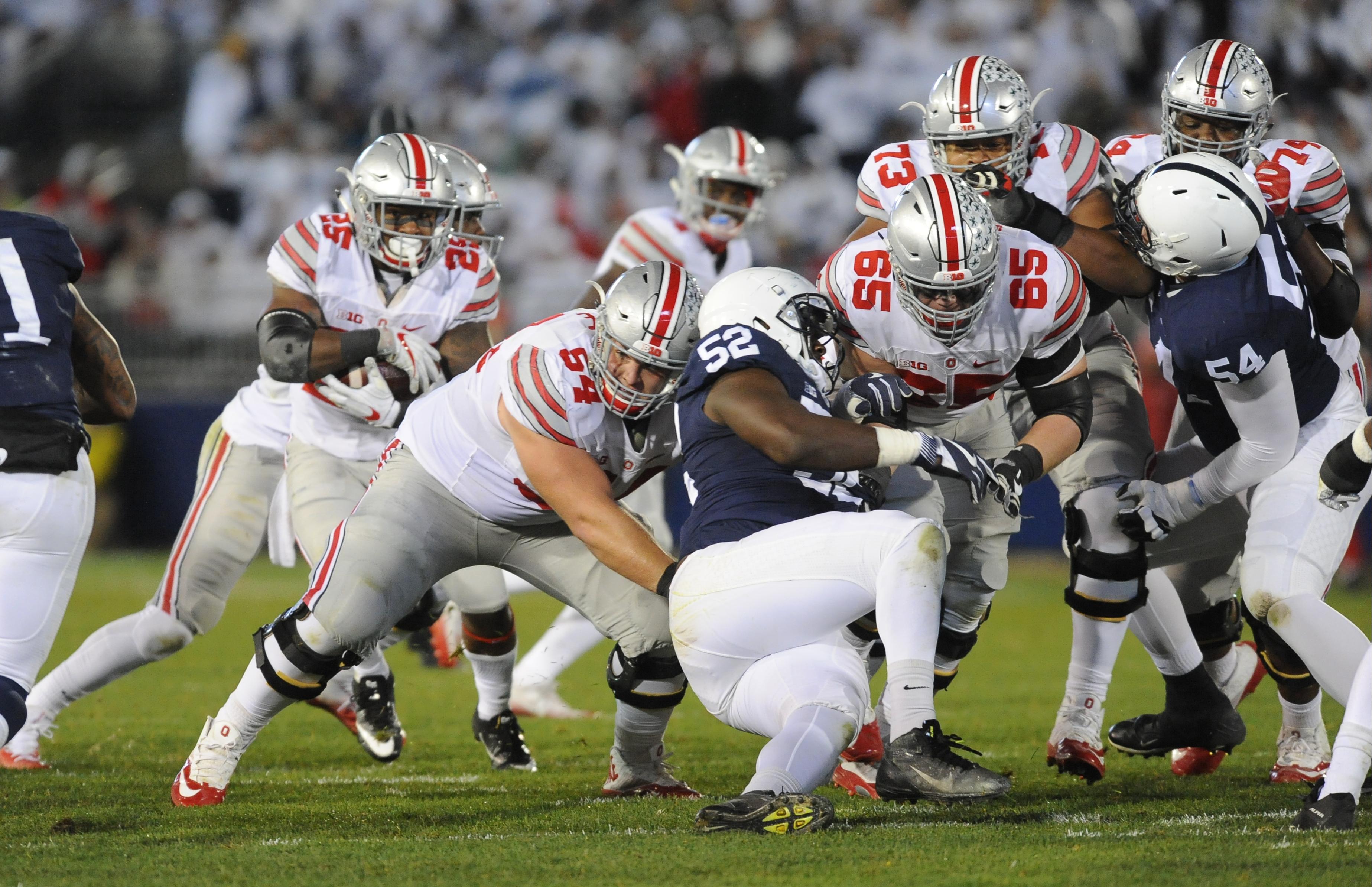NCAA FOOTBALL: OCT 22 Ohio State at Penn State