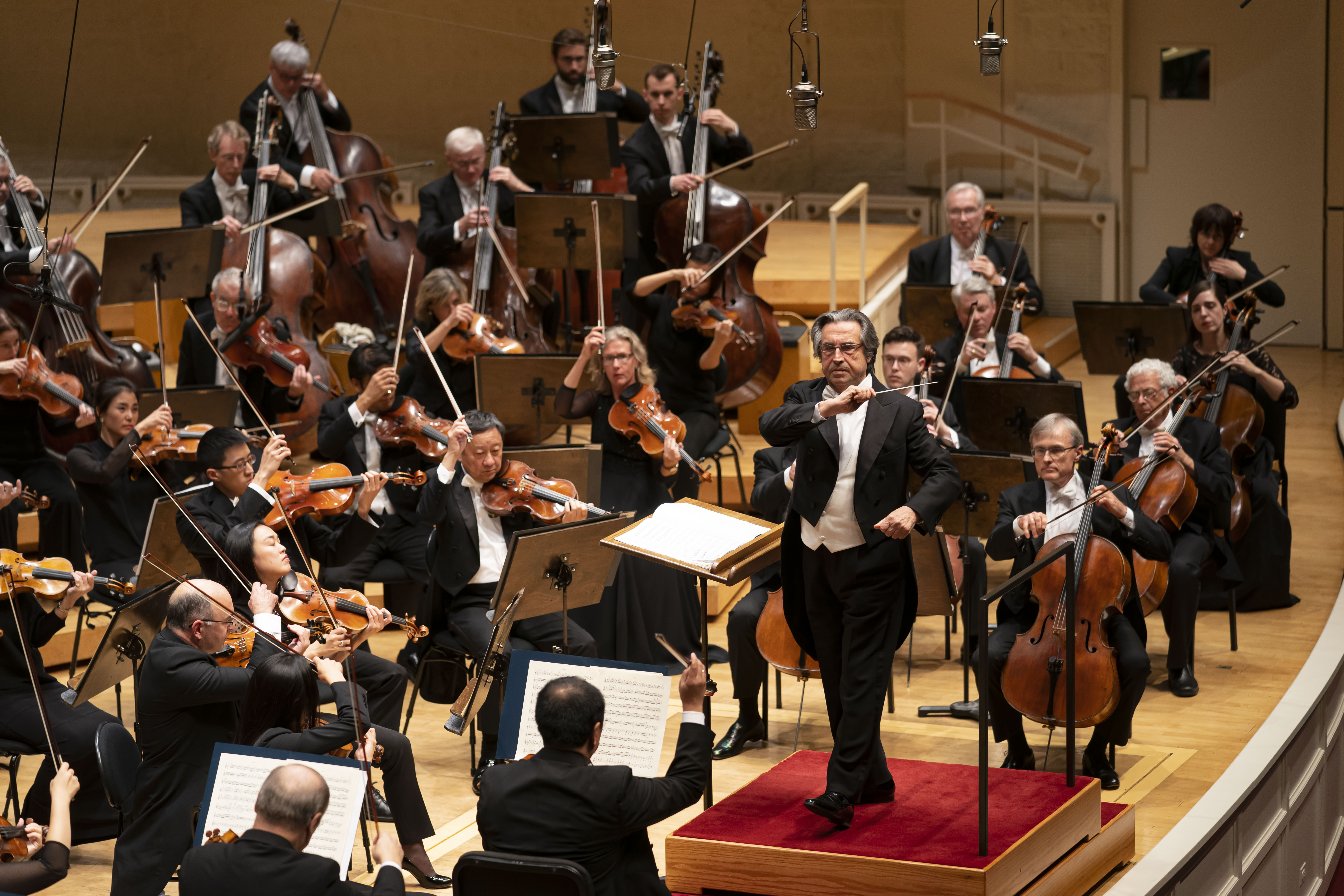 Maestro Riccardo Muti leads the Chicago Symphony Orchestra in an all-Beethoven program in September 2019 at Symphony Center. His appointment as music director of the CSO in 2010 was the key event of the past decade in Chicago's classical music scene.