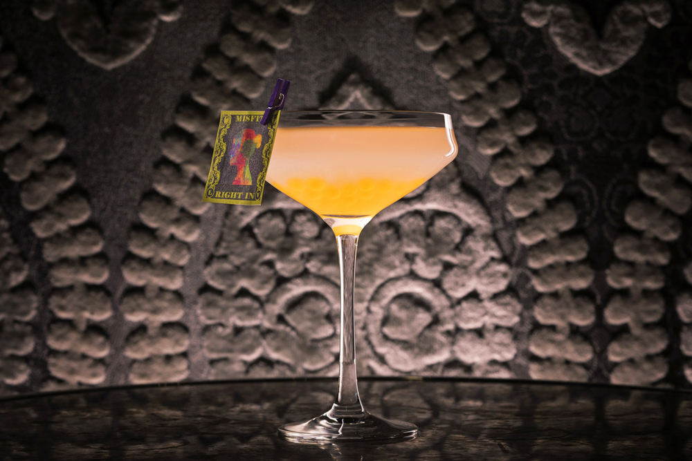 The Penny Black cocktail available at newly remodeled Vesper Bar inside the Cosmopolitan of Las Vegas.