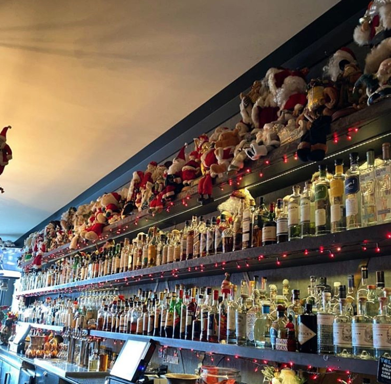Brass Tacks Is Packed With Santa Claus Dolls