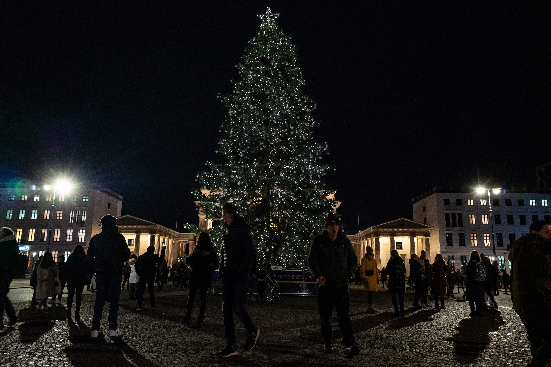 GERMANY-CHRISTMAS-TREE-TOURISM