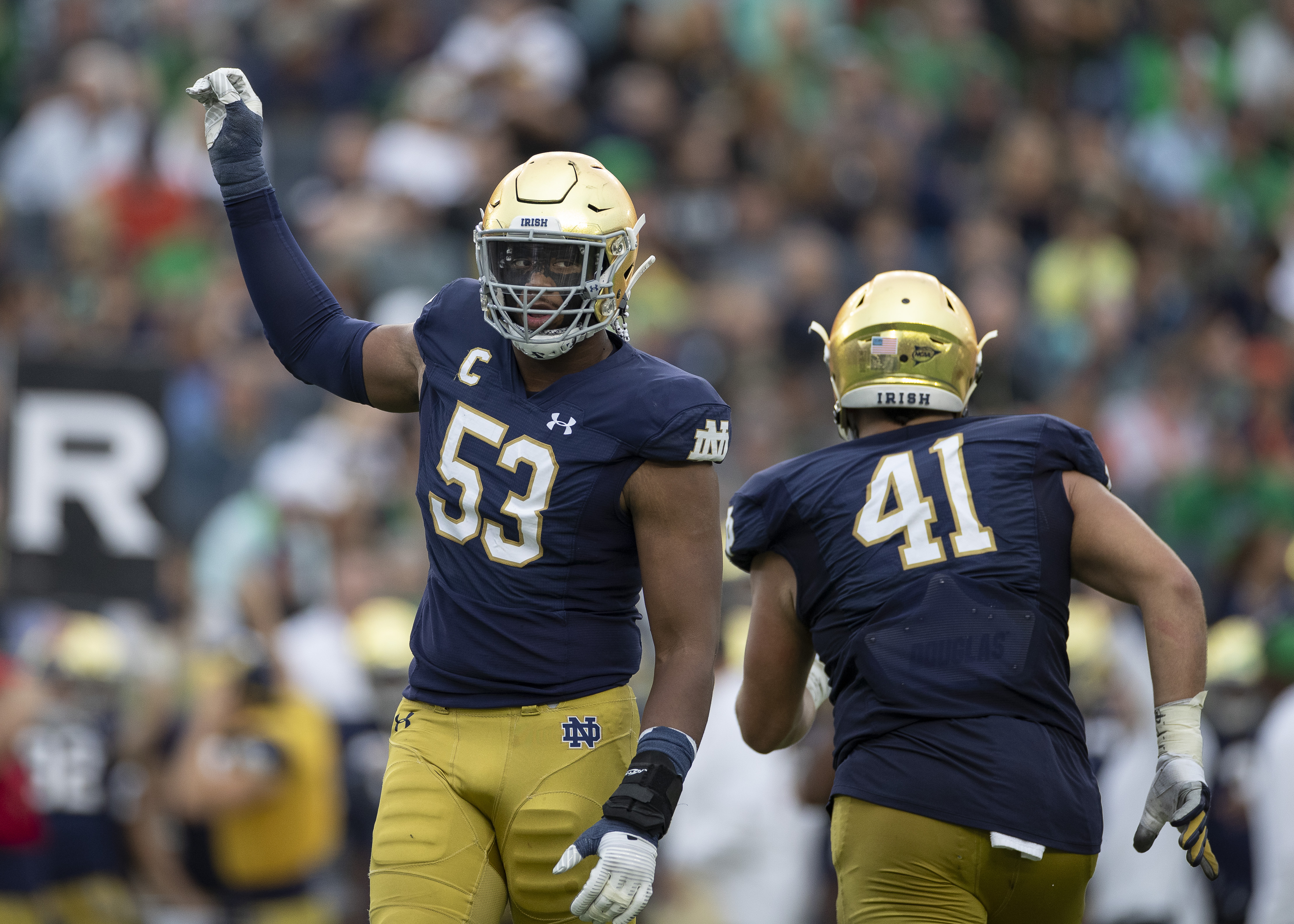 COLLEGE FOOTBALL: SEP 28 Virginia at Notre Dame
