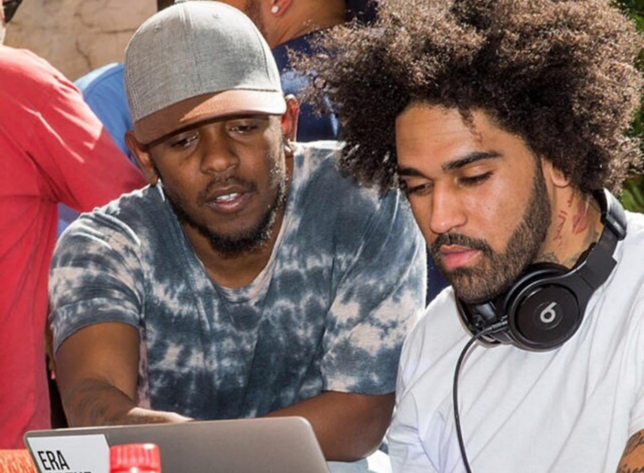 Kendrick Lamar and MixedByAli
