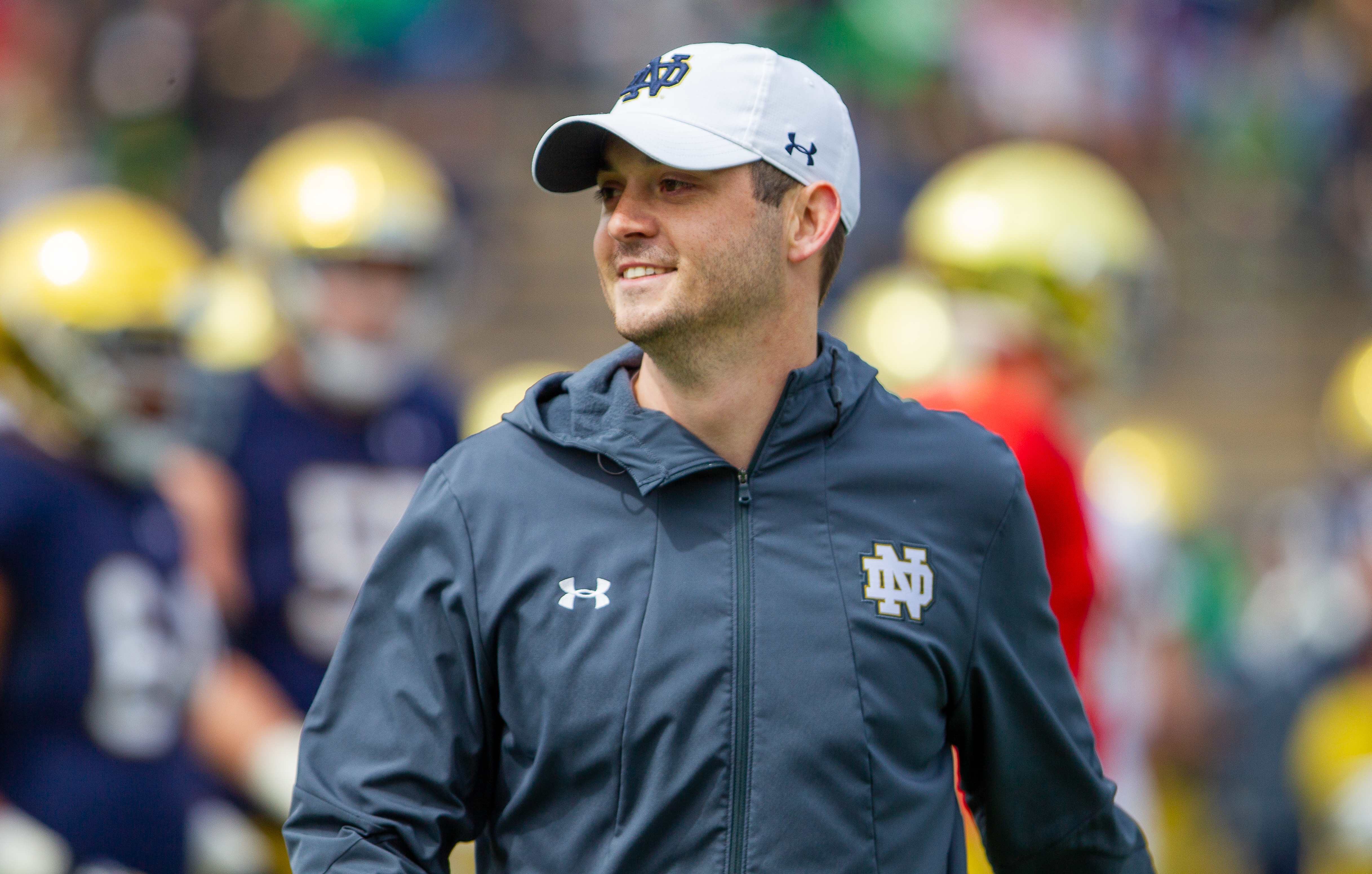 tommy rees notre dame football coach
