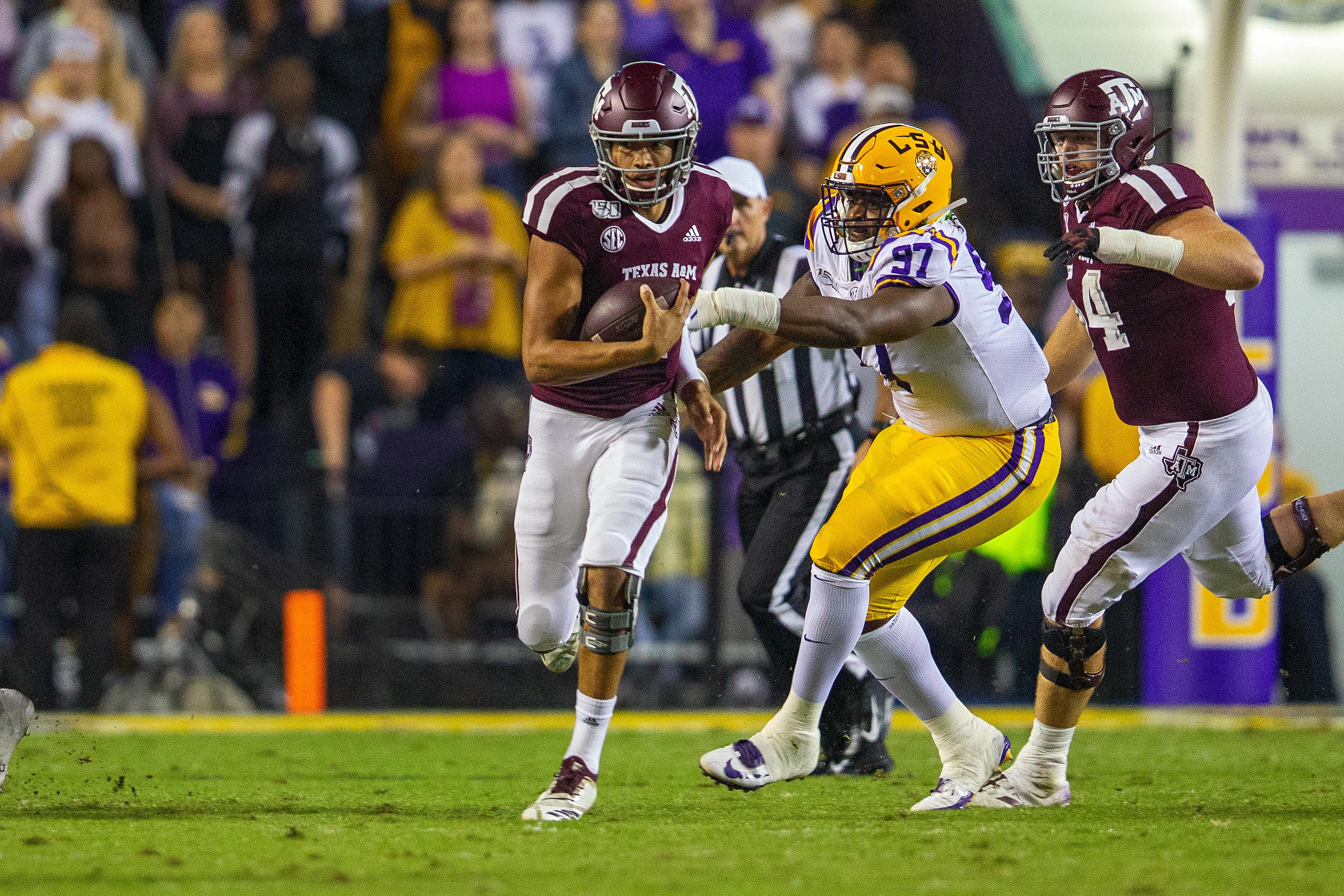 COLLEGE FOOTBALL: NOV 30 Texas A&M at LSU