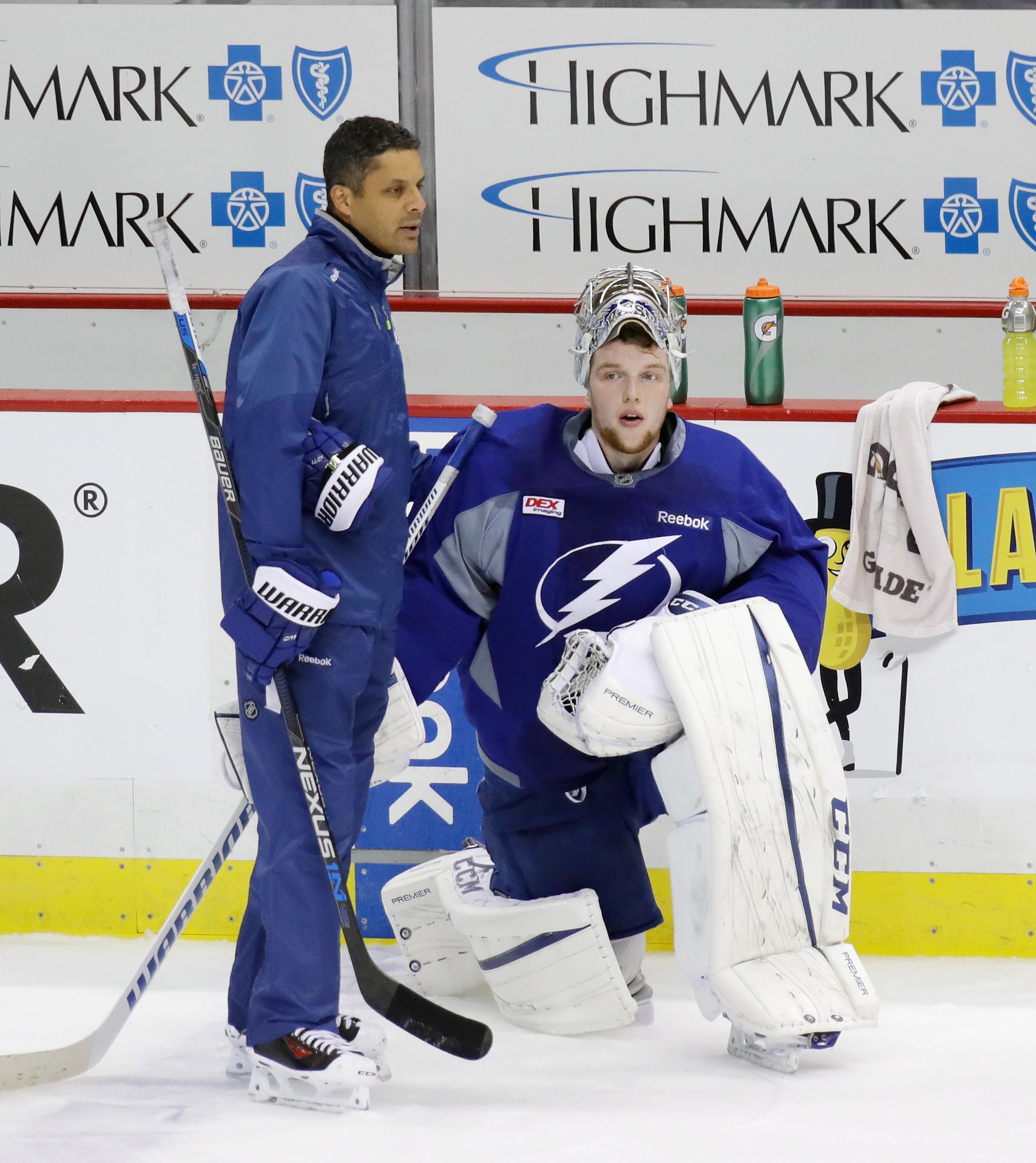 Tampa Bay Lightning Practice