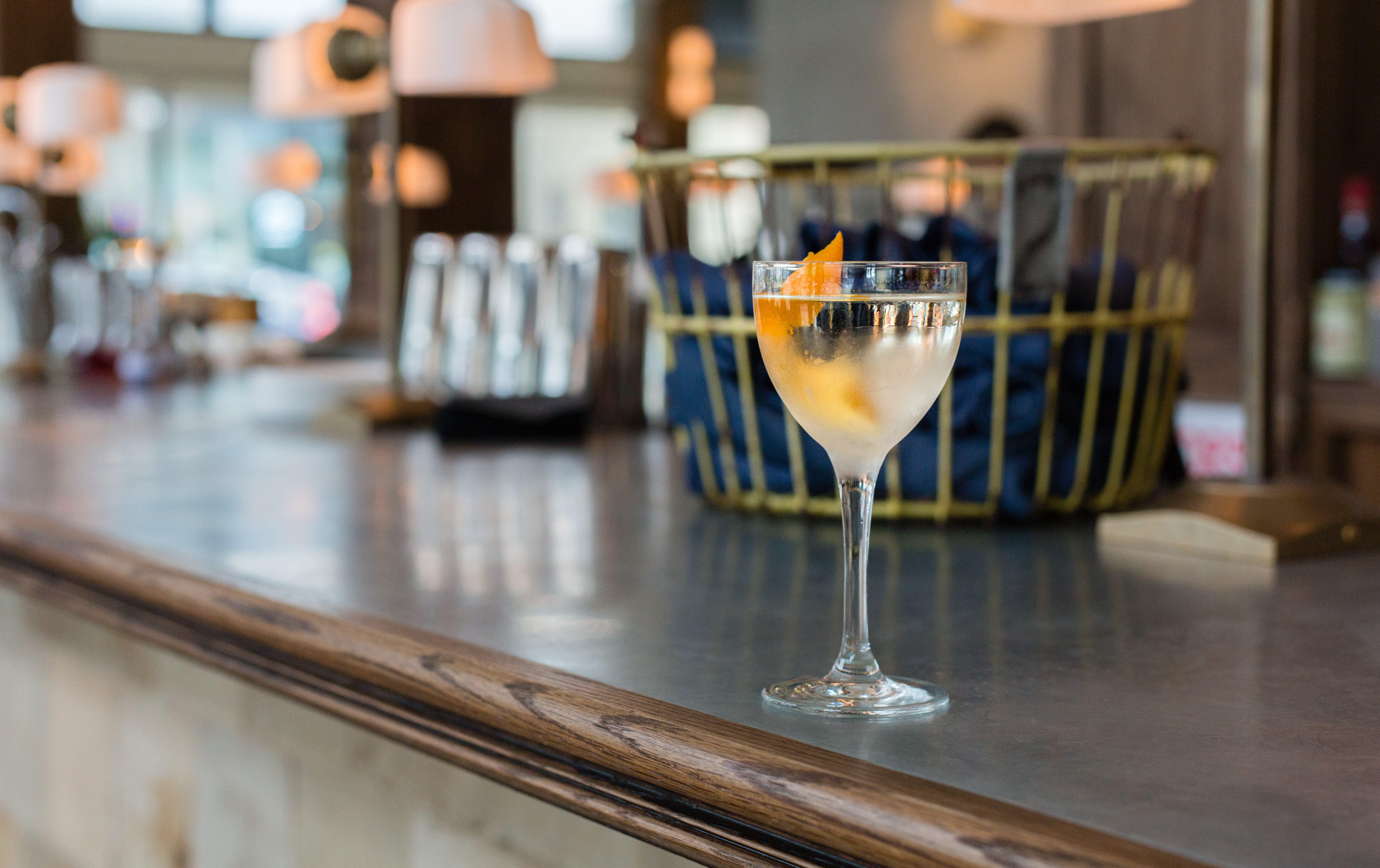 The Kex Hotel's Duchess cocktails