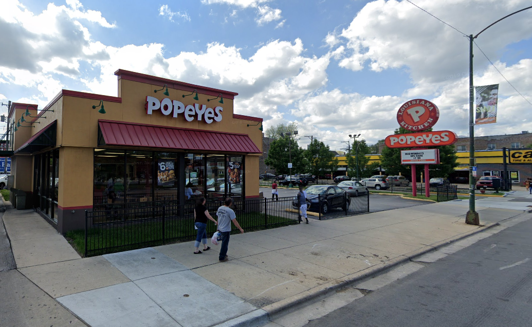 A boy was wounded in a shooting at a Popeyes.