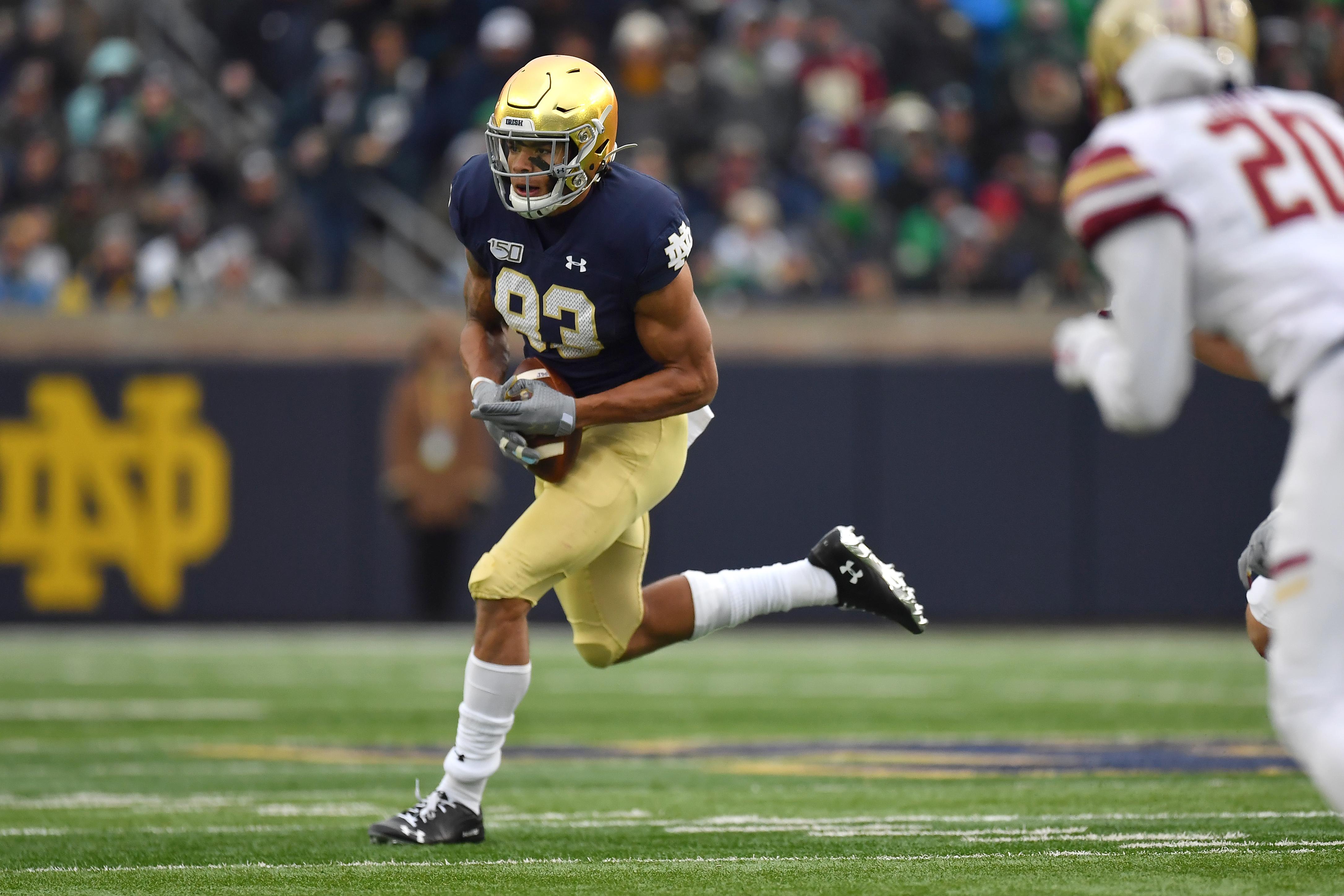 COLLEGE FOOTBALL: NOV 23 Boston College at Notre Dame