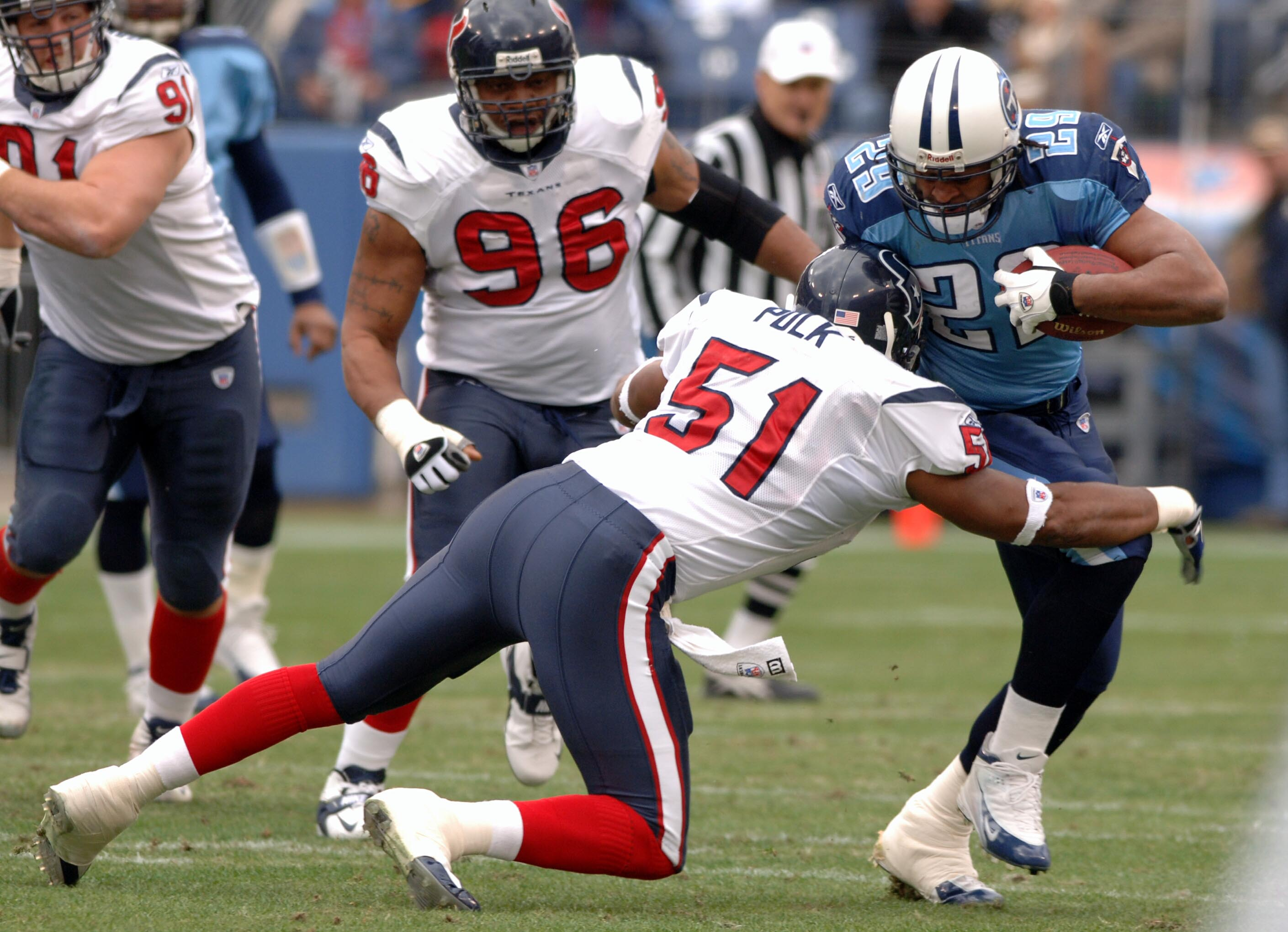 Houston Texans vs Tennessee Titans - December 11, 2005