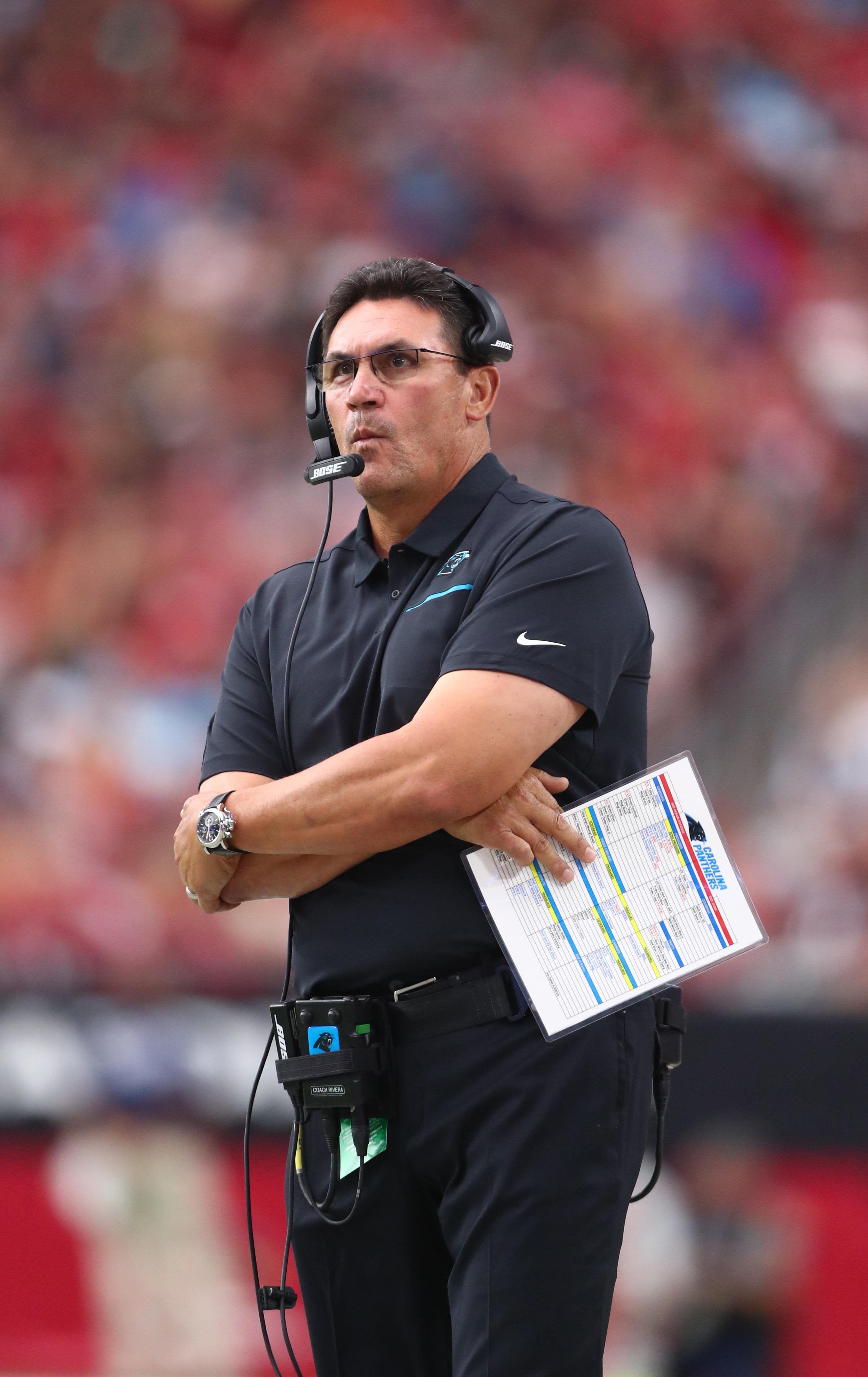 NFL: Carolina Panthers at Arizona Cardinals