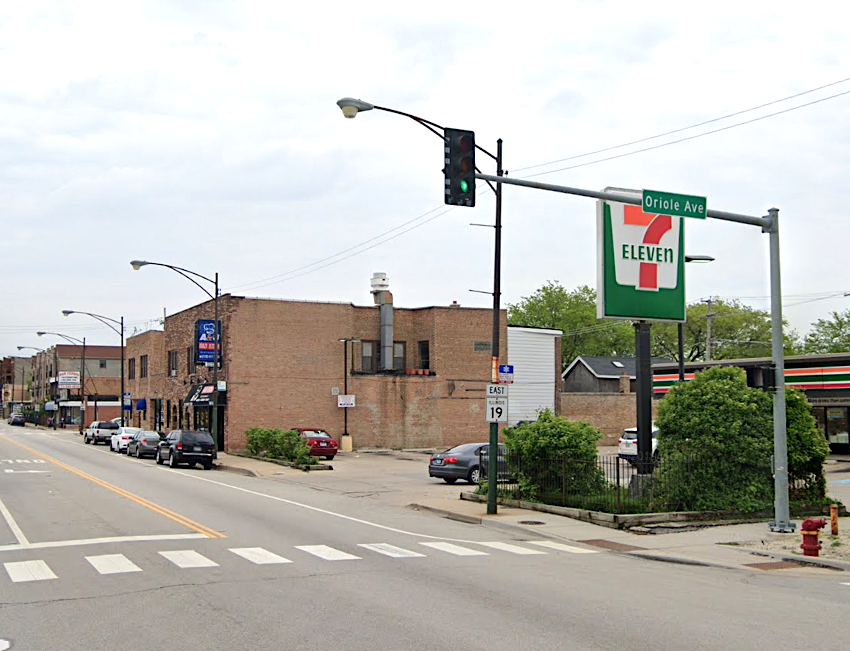 A person was shot Dec. 30, 2019, during an attempted robbery at a 7-Eleven in the 7500 block of West Irving Park Road.