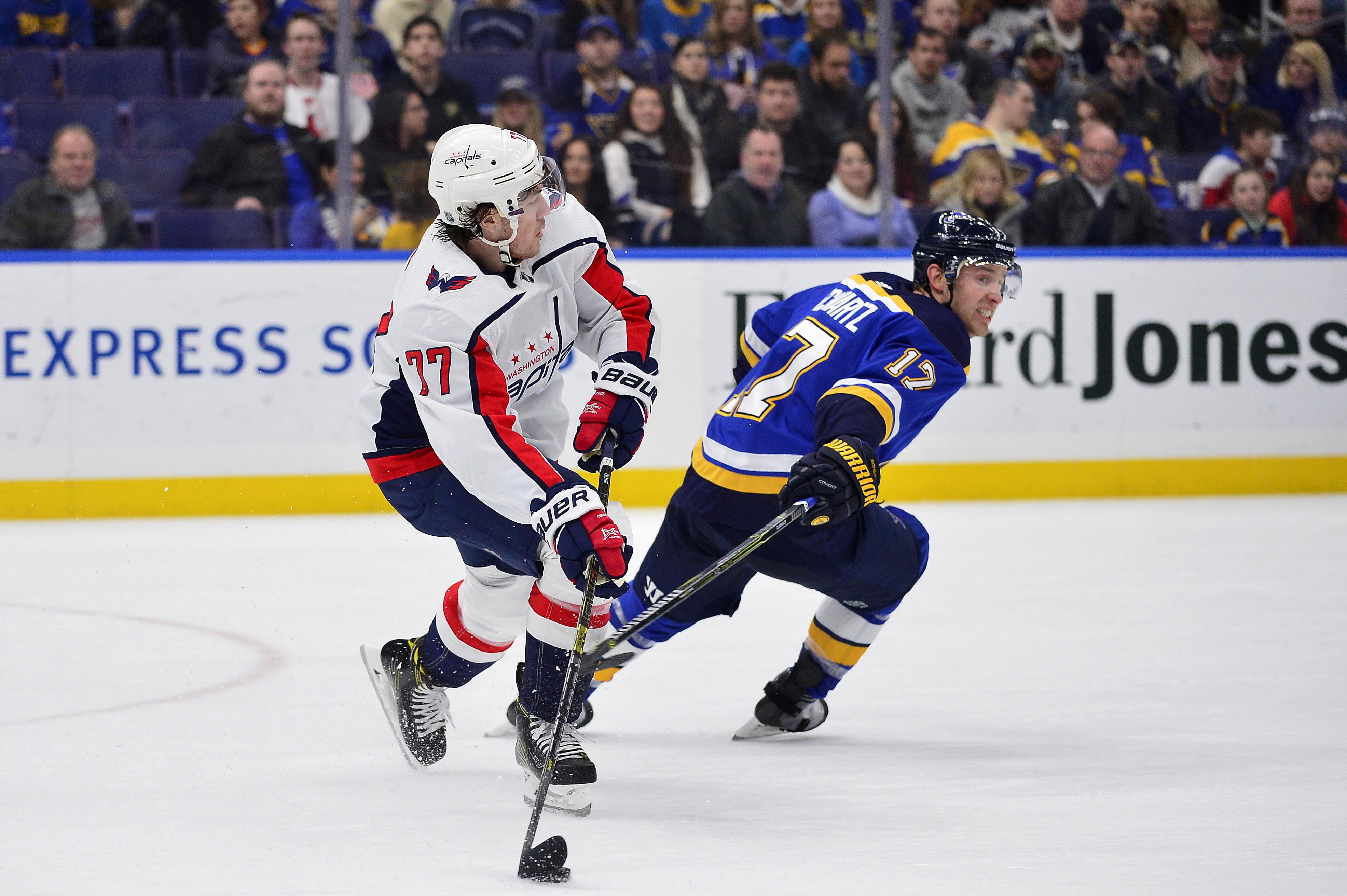 NHL: Washington Capitals at St. Louis Blues