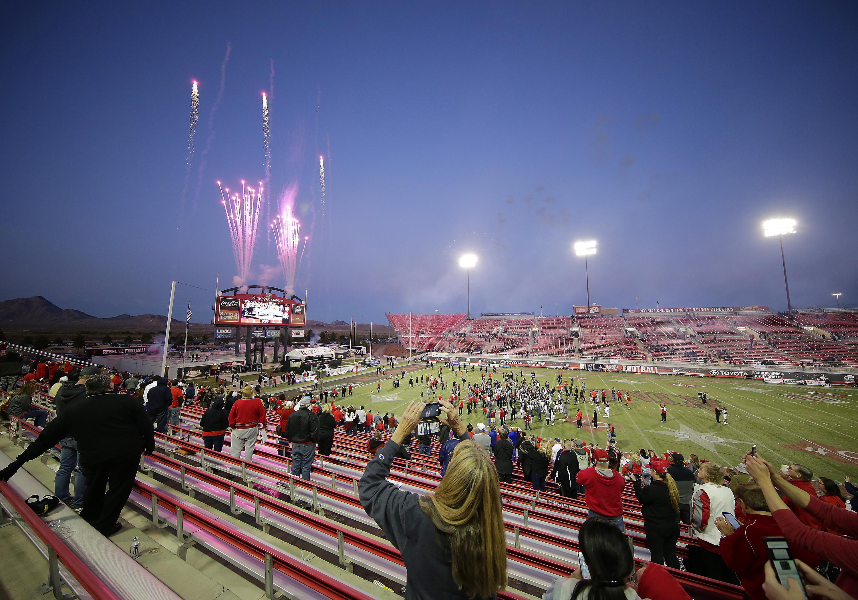 COLLEGE FOOTBALL: NOV 23 San Jose State at UNLV