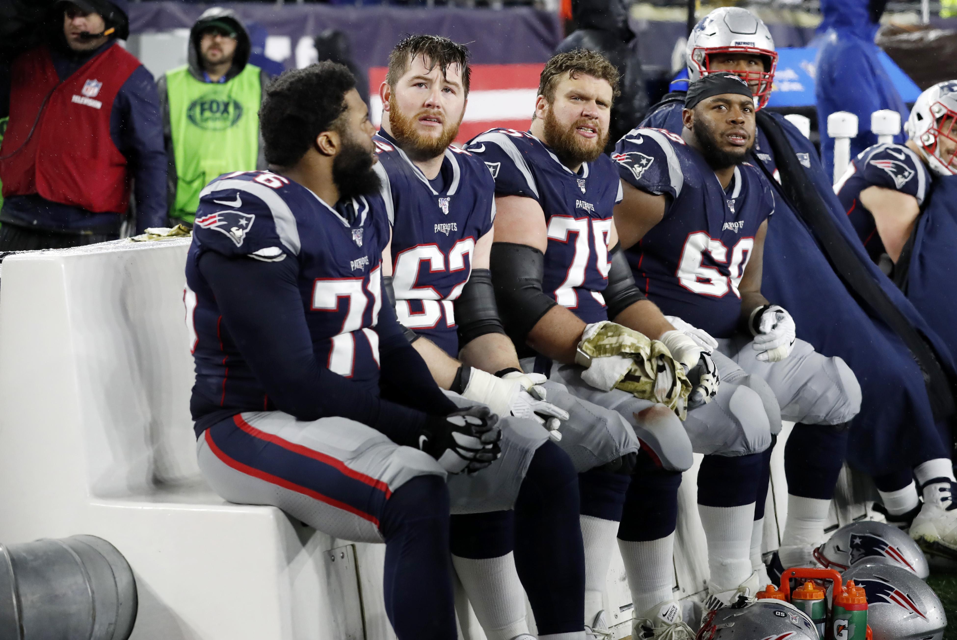 NFL: NOV 24 Cowboys at Patriots