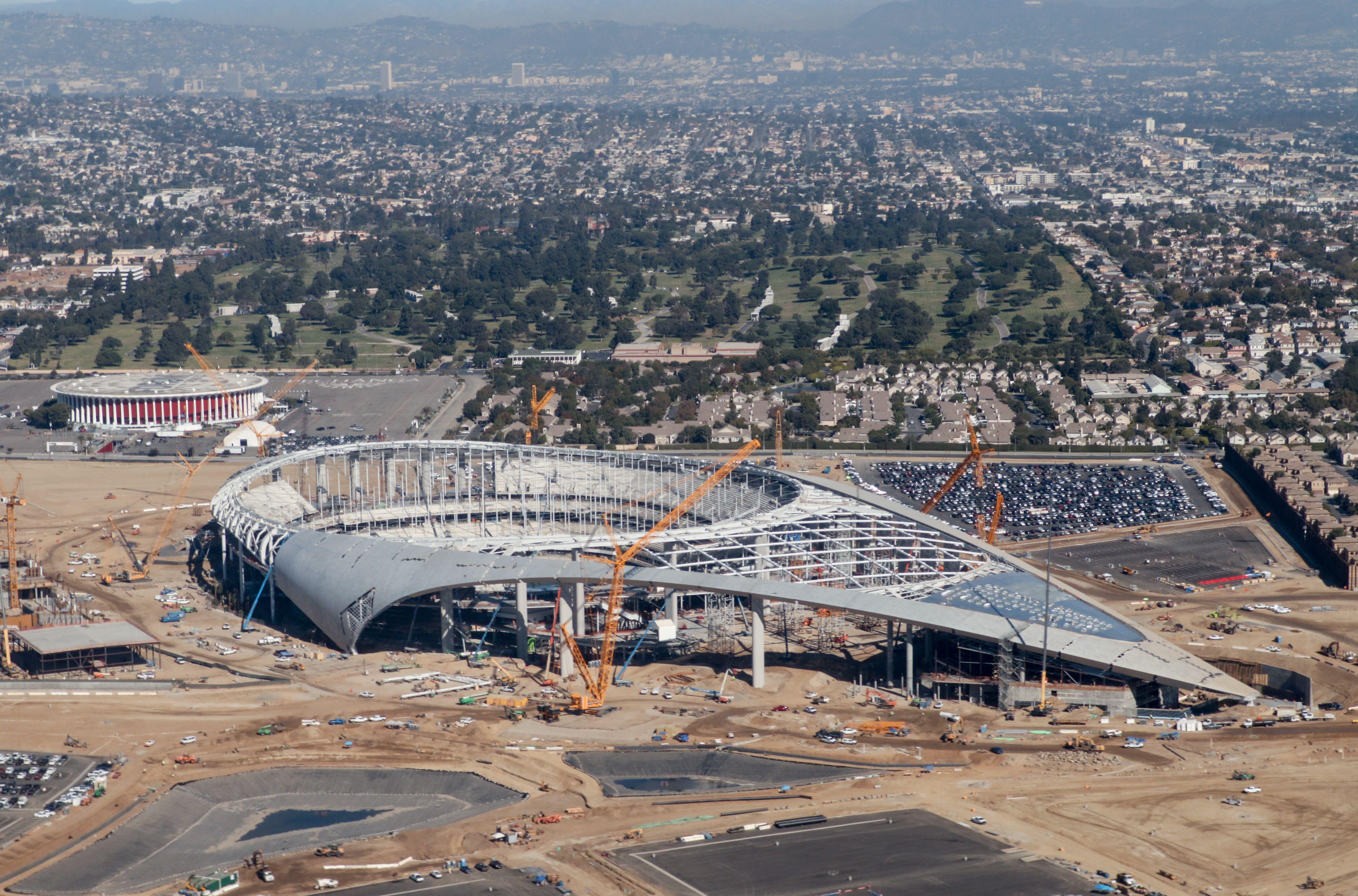 SoFi Stadium, Oct. 23, 2019.