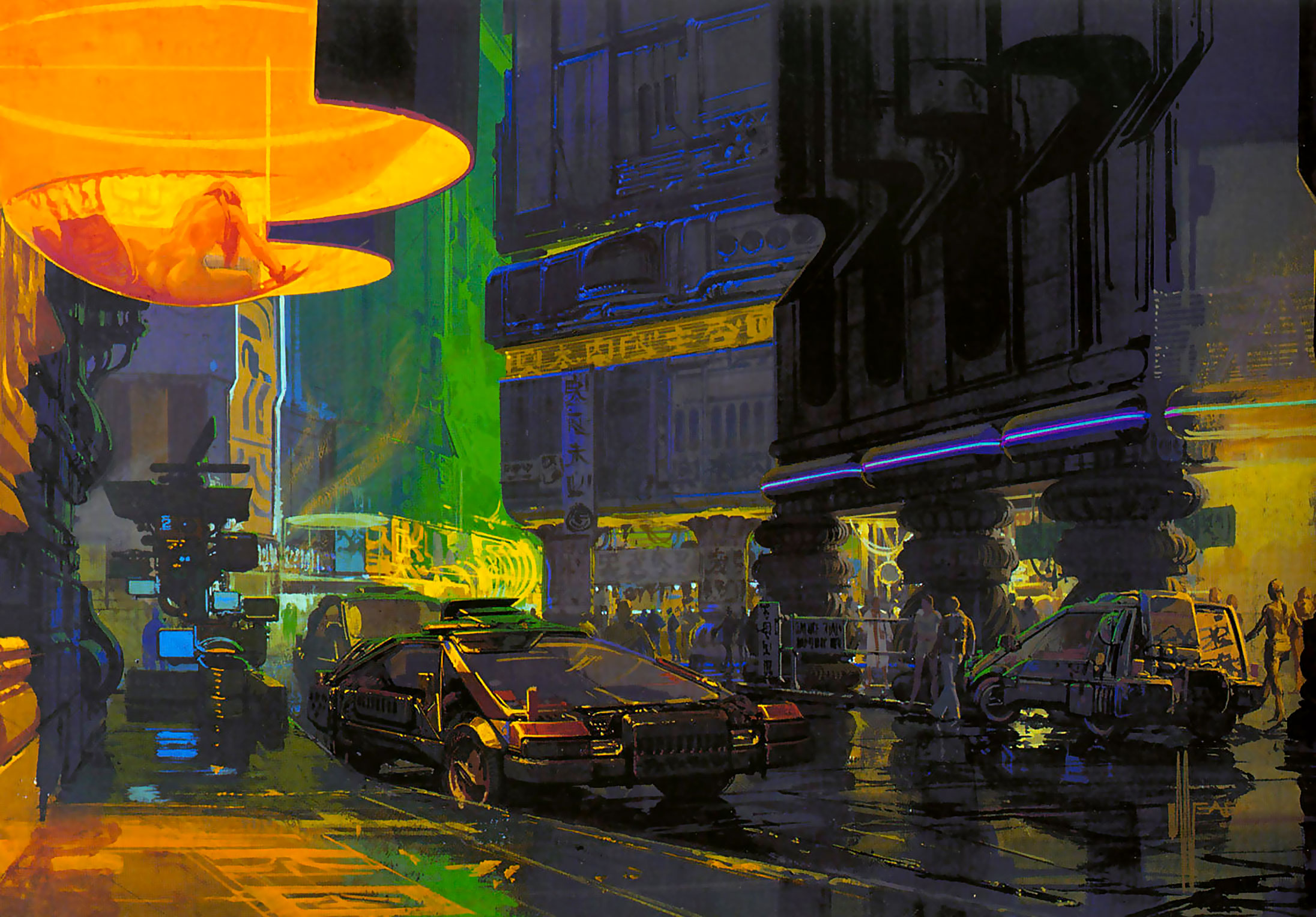 Blade Runner artist and futurist designer Syd Mead dies at 86