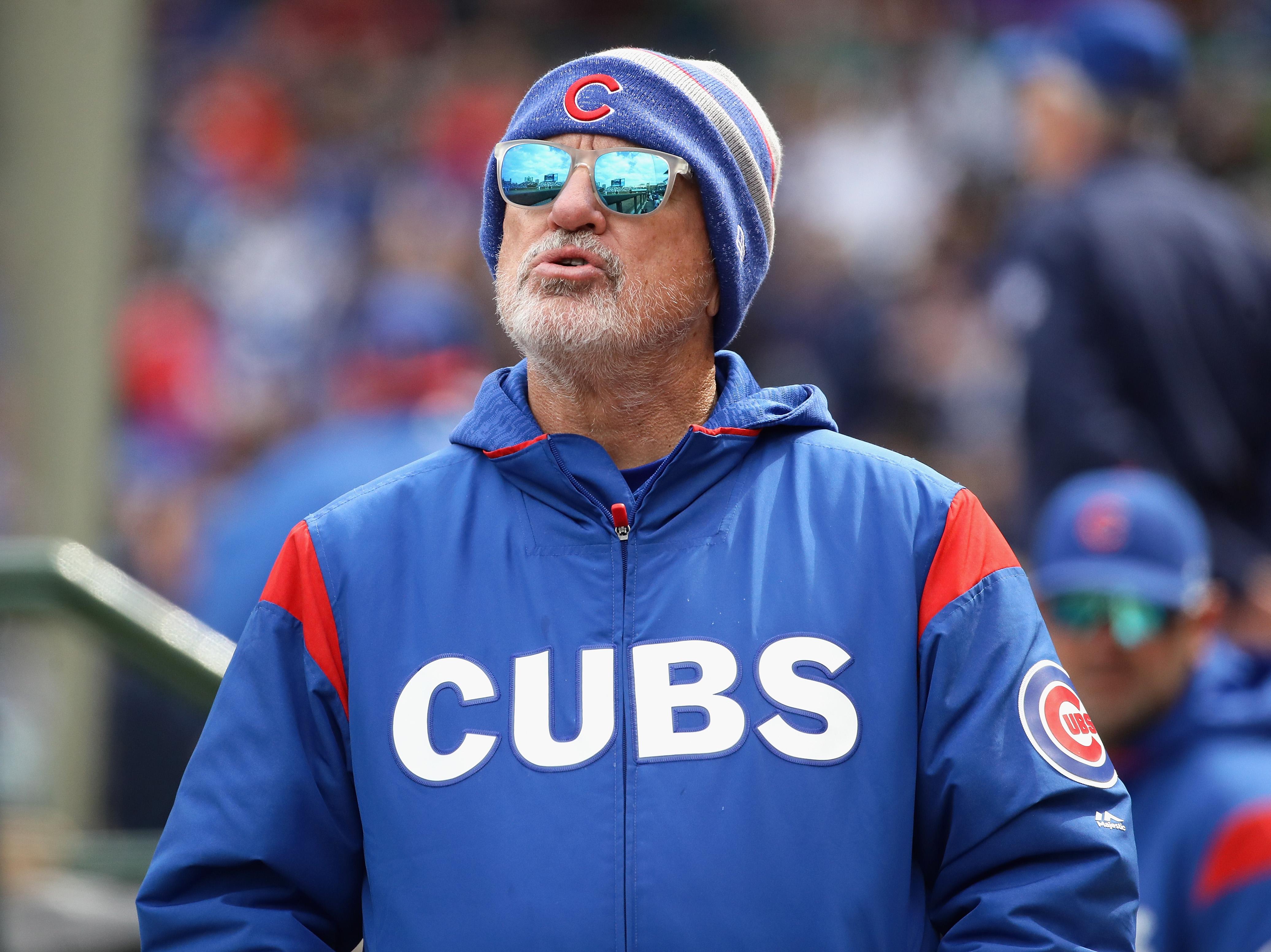 Former Cubs manager Joe Maddon