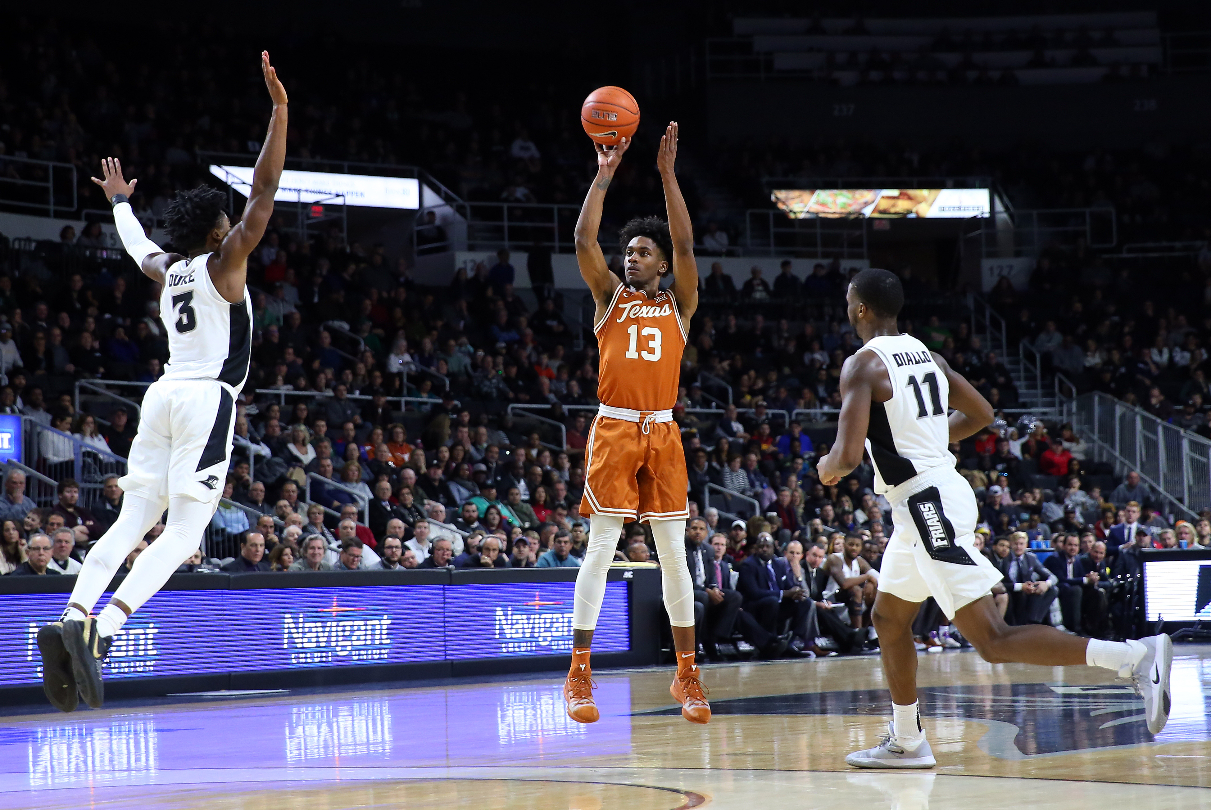 COLLEGE BASKETBALL: DEC 21 Texas at Providence