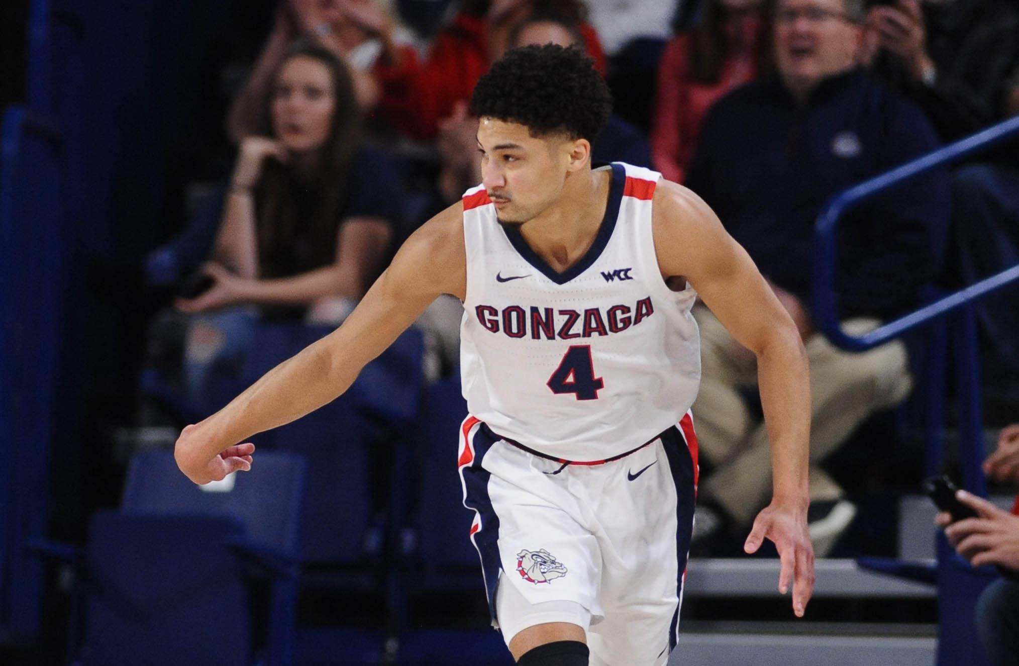 NCAA Basketball: Detroit at Gonzaga