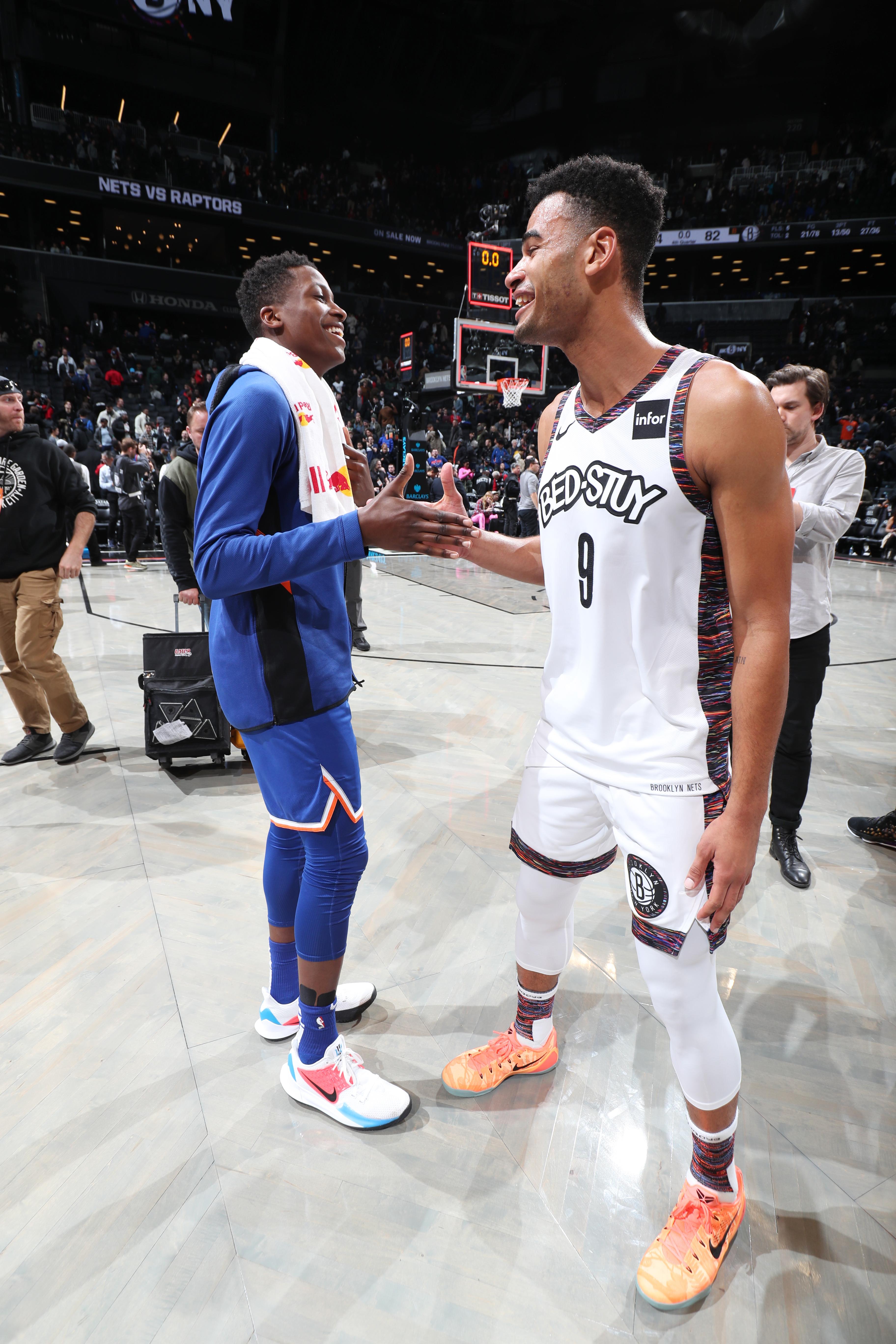 New York Knicks v Brooklyn Nets