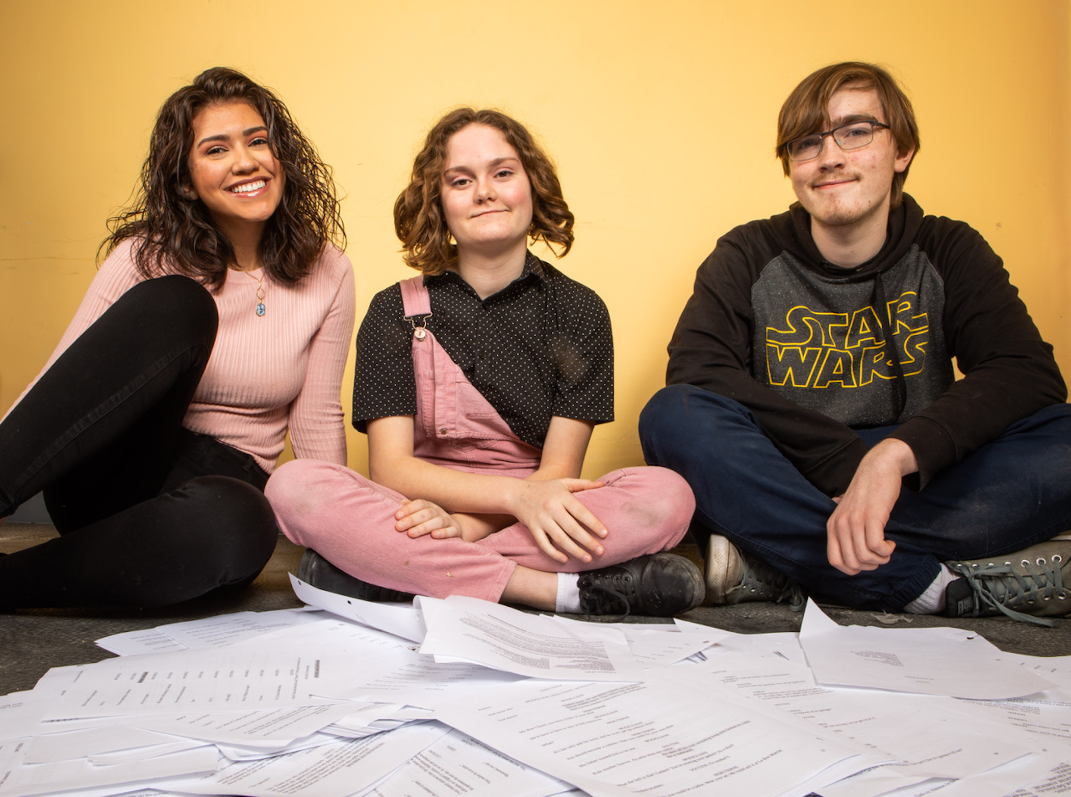 PlaywrightsAngelina Davila, Henry Williams and Reba Brennan will have their work featured at the annual Young Playwrights Festival.