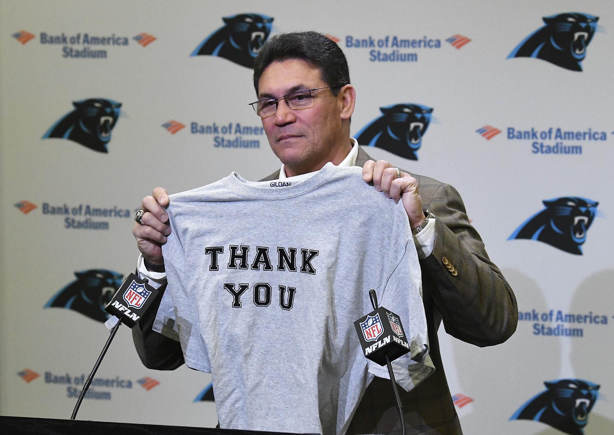 Ron Rivera press conference
