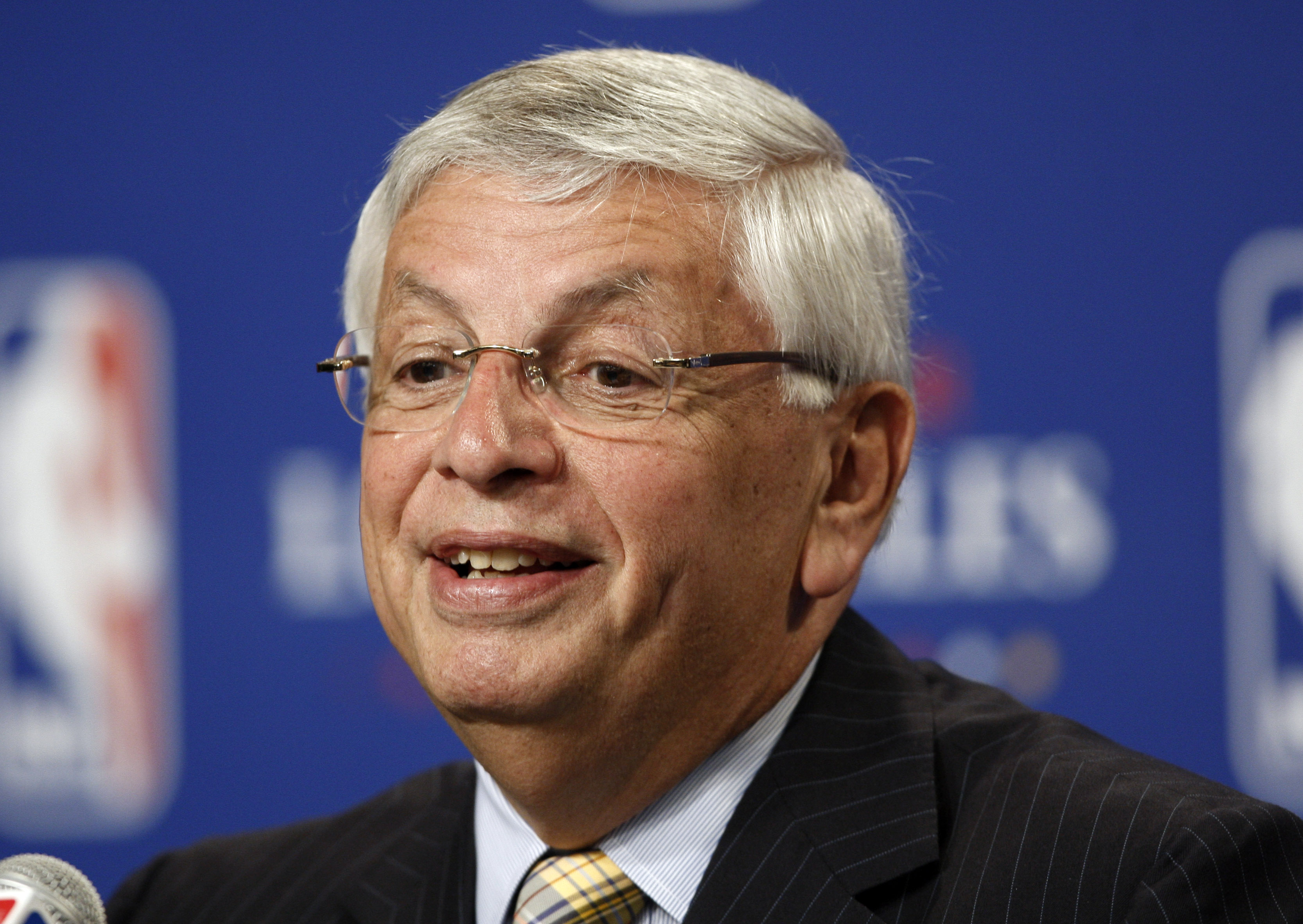 Former NBA commissioner David Stern died Wednesday, the league announced.