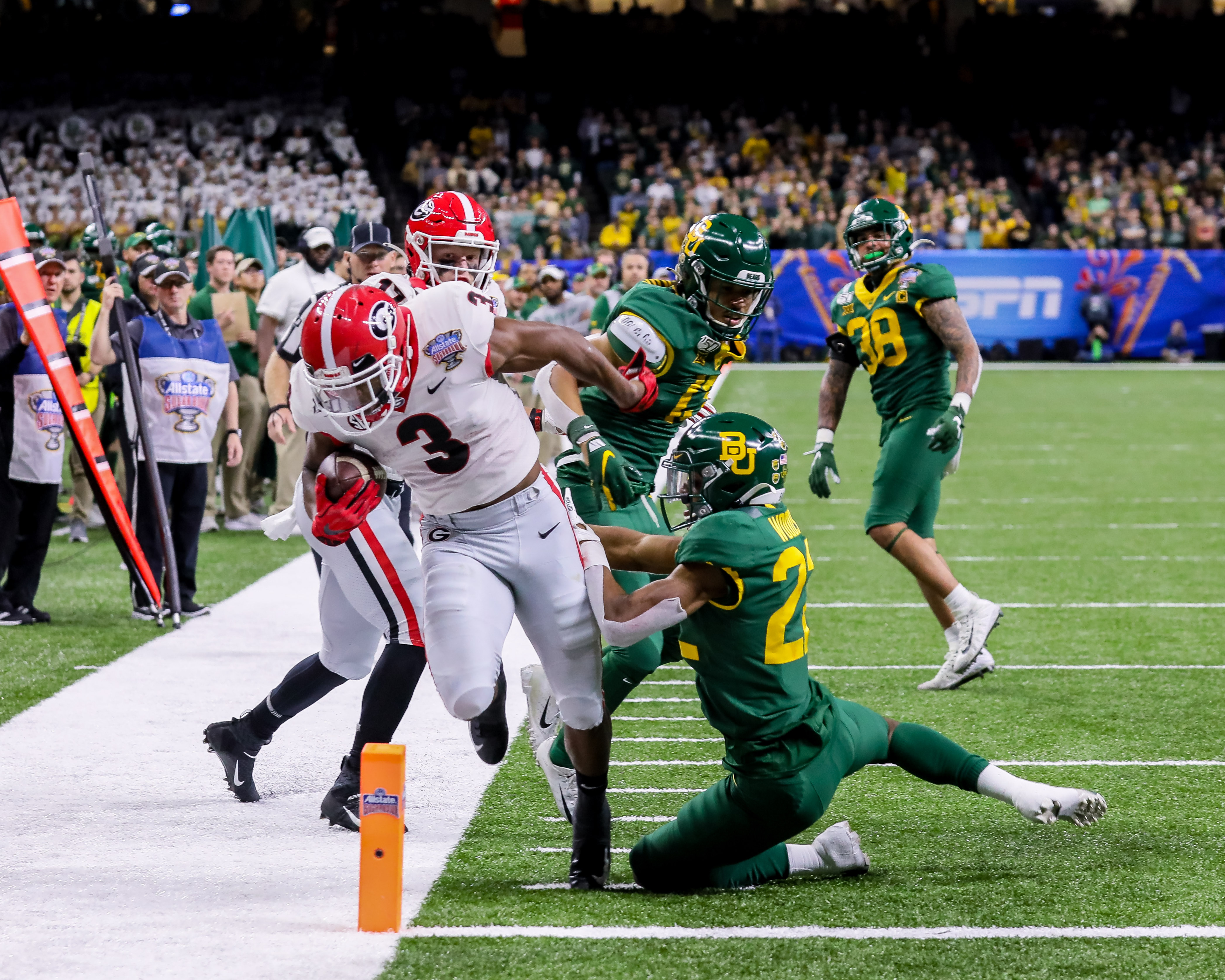NCAA Football: Sugar Bowl-Georgia vs Baylor