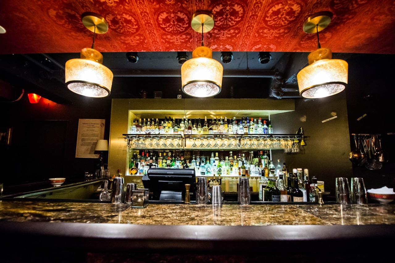 The bar at Sheppard