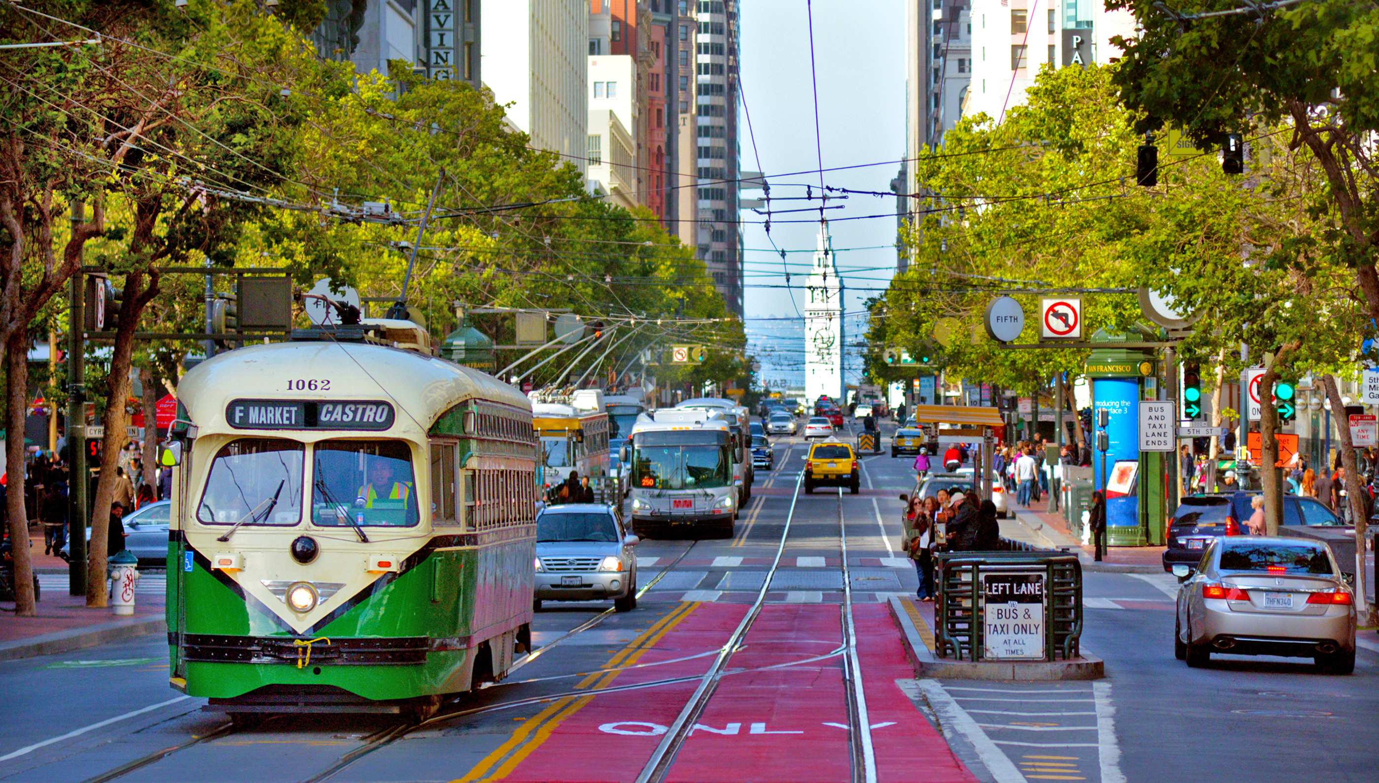 Starting January 29, Market Street will ban (most) cars downtown