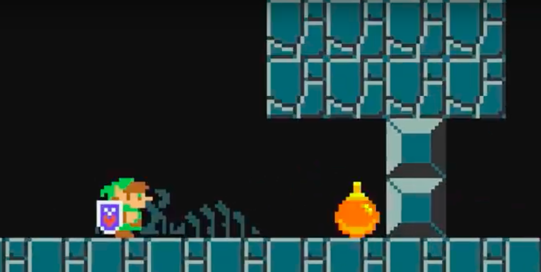 Mario Maker 2 now has Zelda Kaizo levels, and they're totally wild