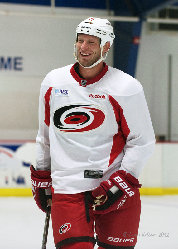Jordan Staal hasn't been a big-time power play scorer in his career. Could that change with more opportunity in Carolina?
