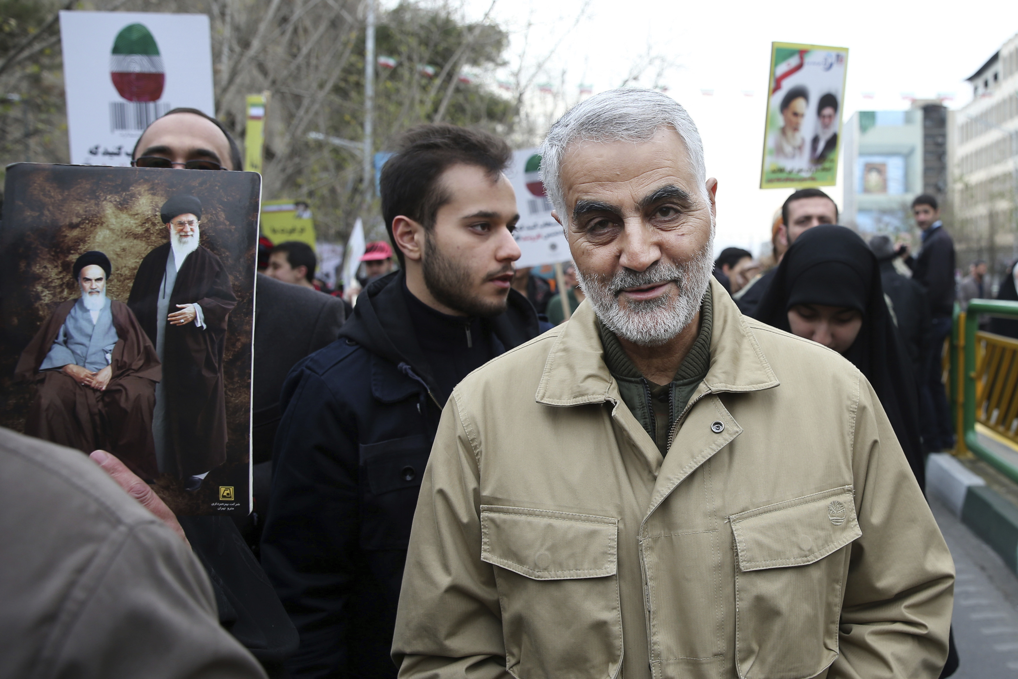 Iranian Revolutionary Guard Gen. Qassem Soleimani, who was killed in a U.S. military drone attack early on Friday morning.