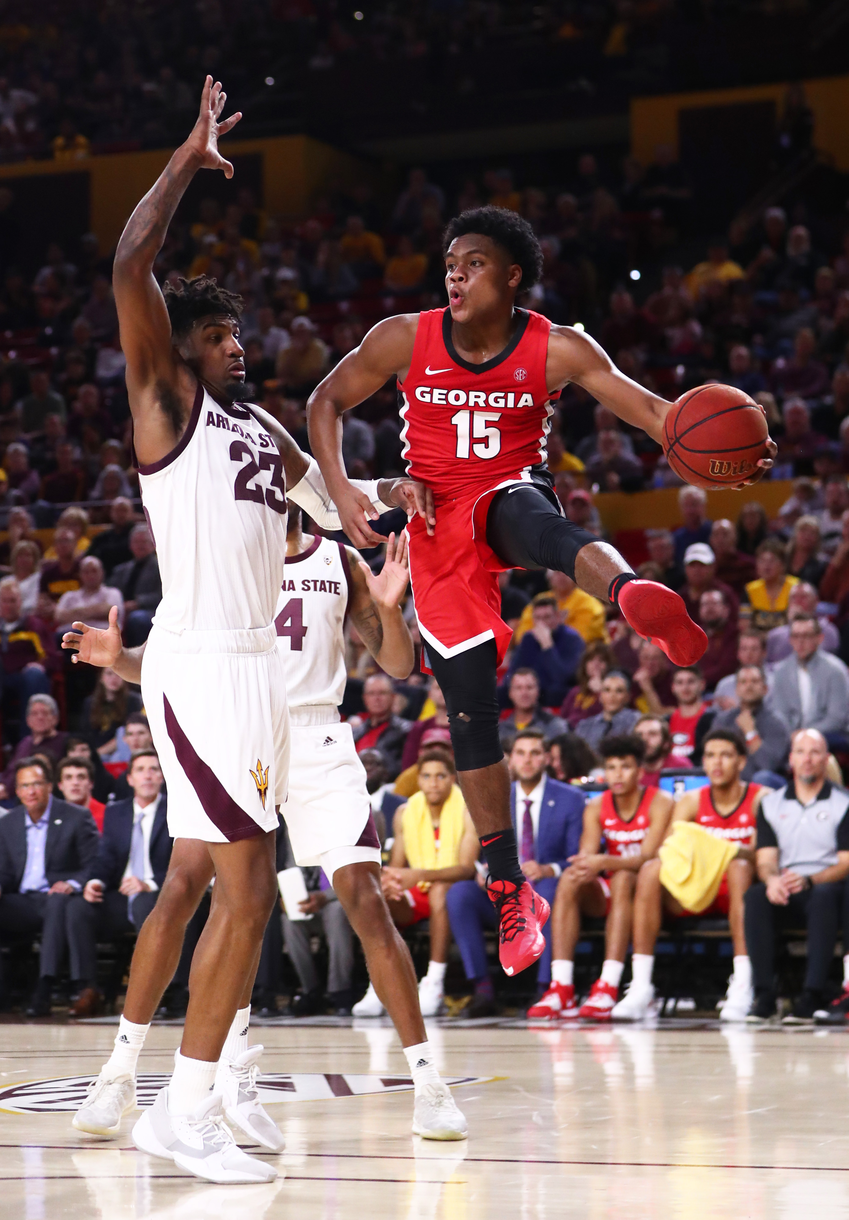 NCAA Basketball: Georgia at Arizona State