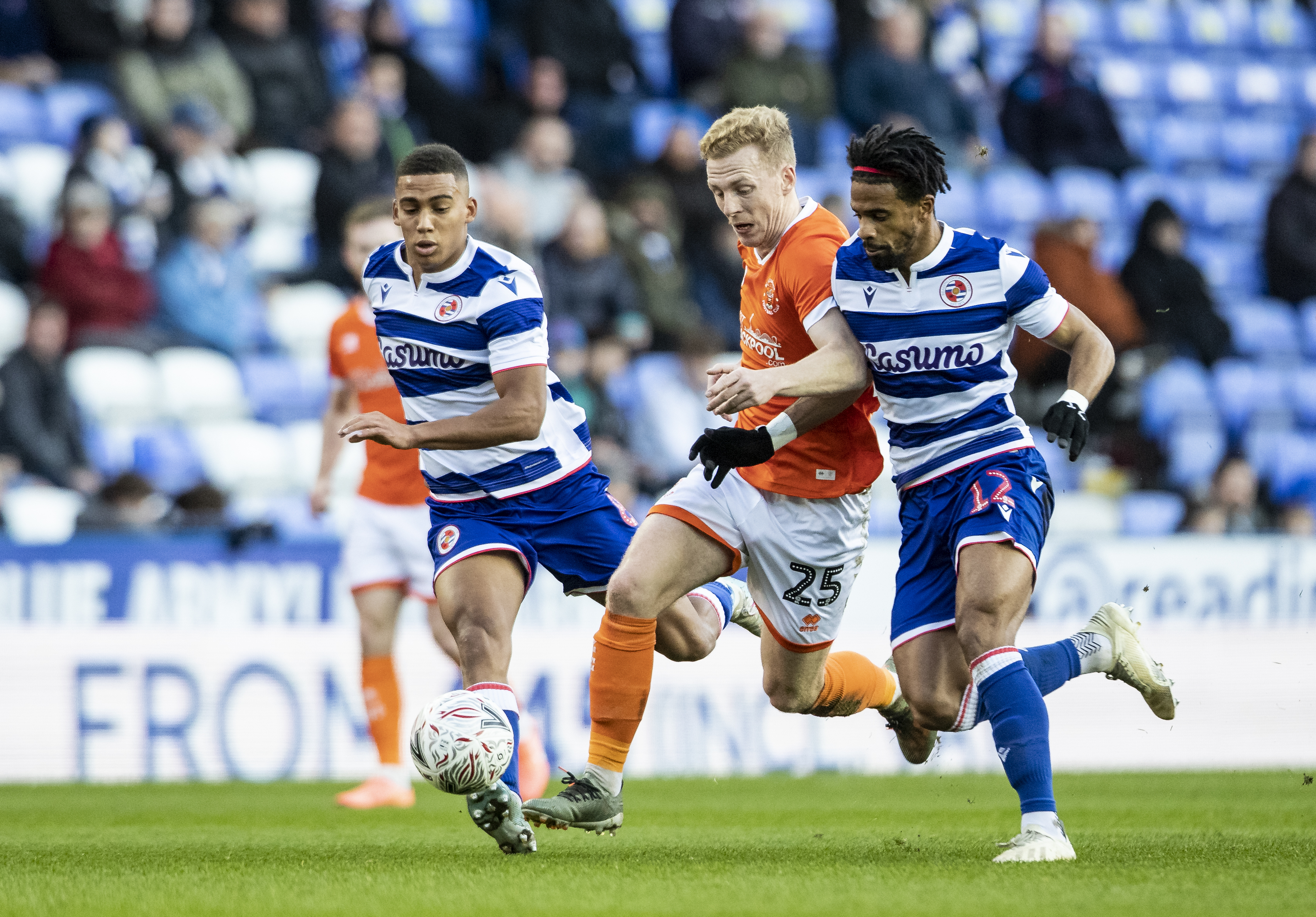 Reading FC v Blackpool FC - FA Cup Third Round