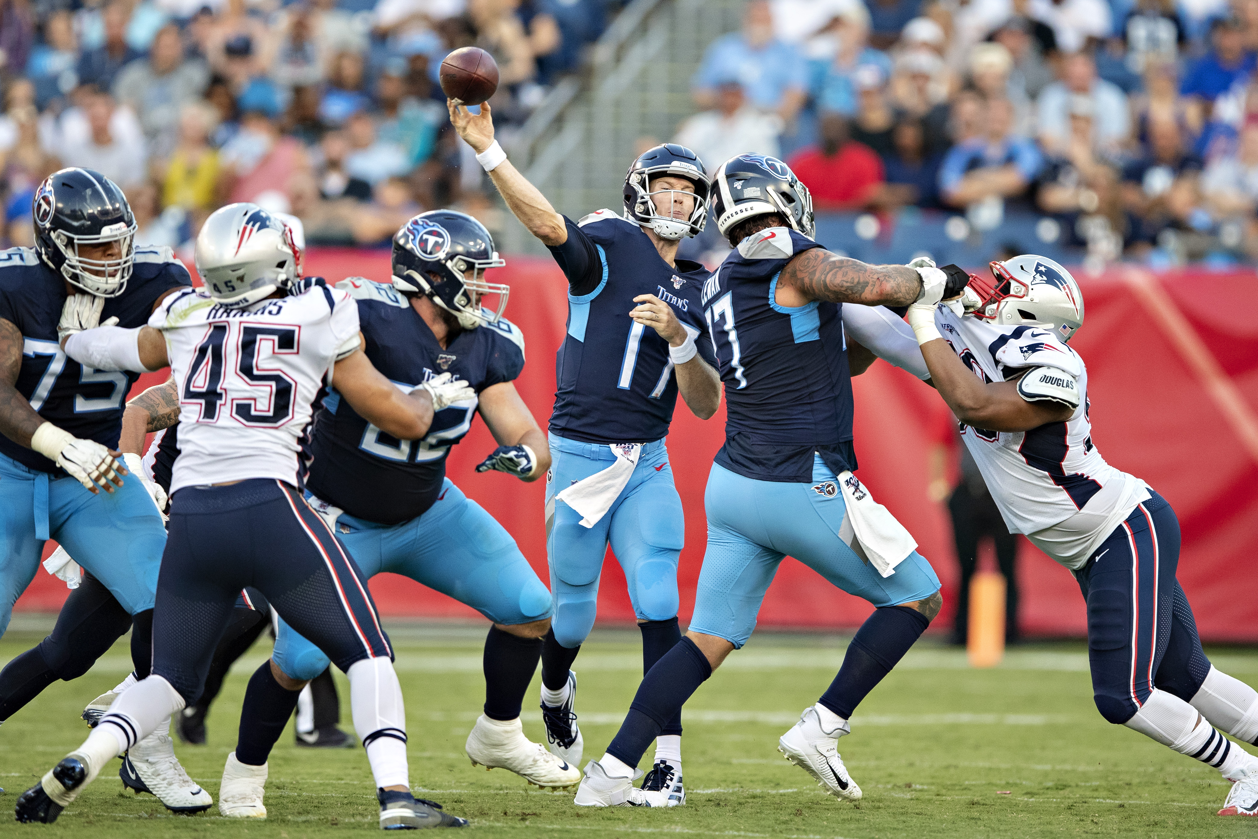 New England Patriots v Tennessee Titans