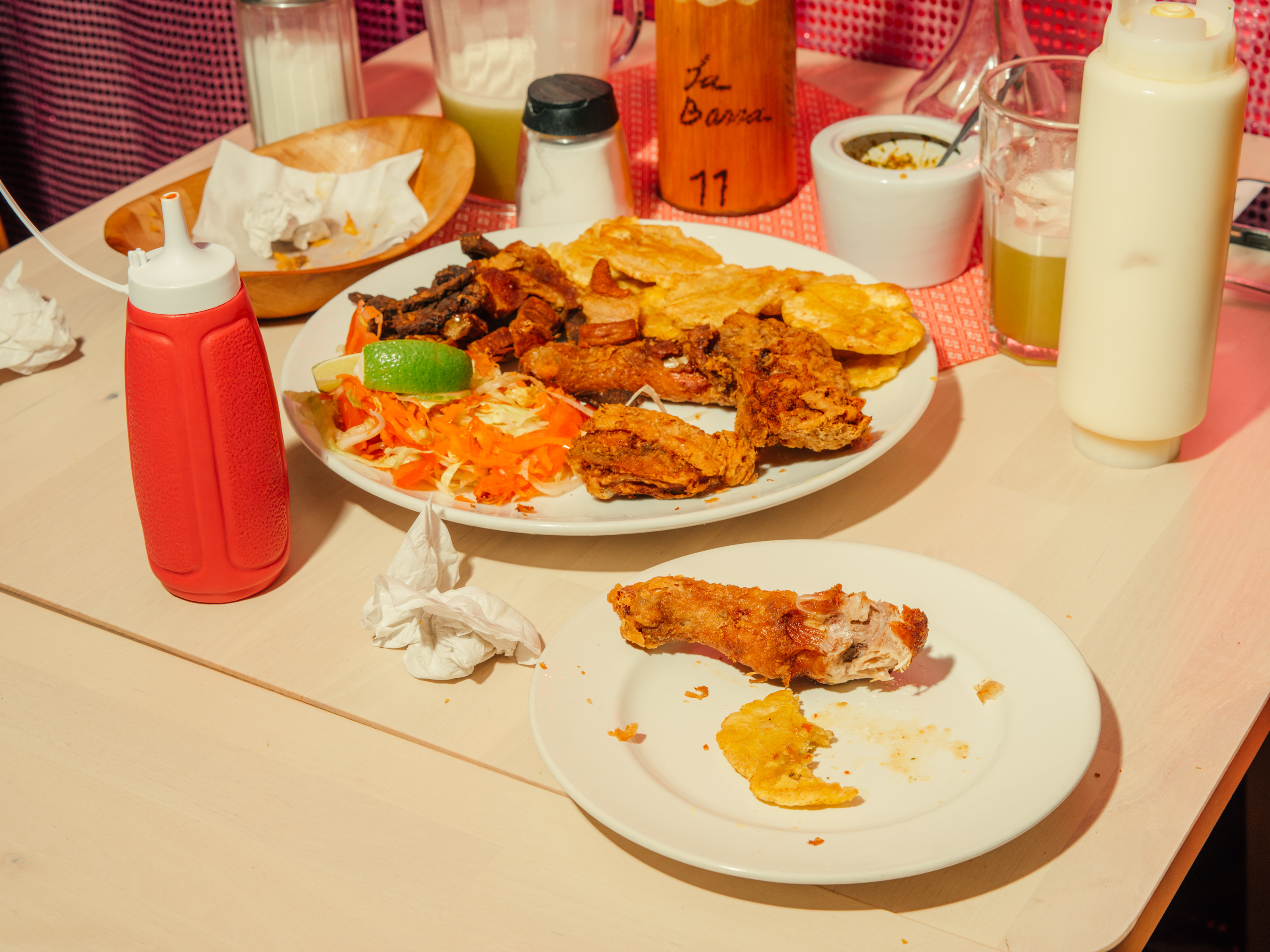 Maria Luisa Riascos-Solis' fried chicken at La Barra in Elephant and Castle is some of the city's best