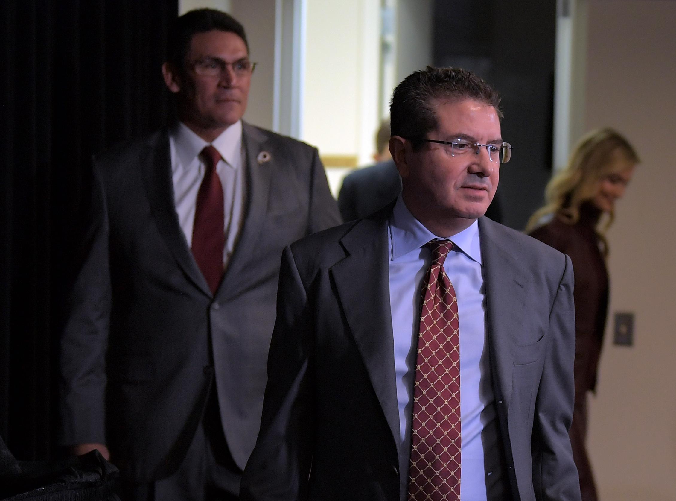 Washington Redskins coach Ron Rivera
