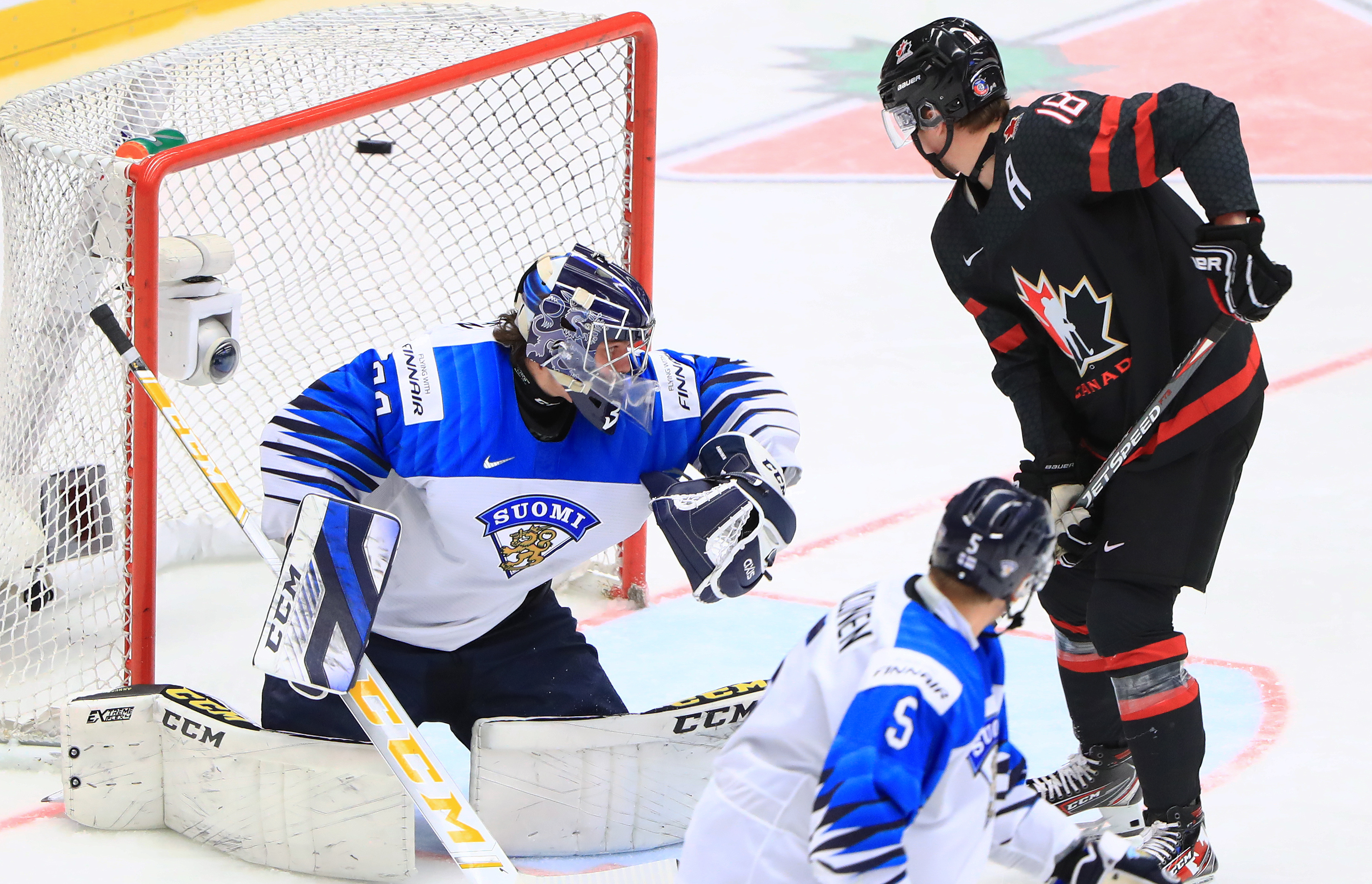 2020 World Junior Ice Hockey Championship, Semifinals: Canada vs Finland