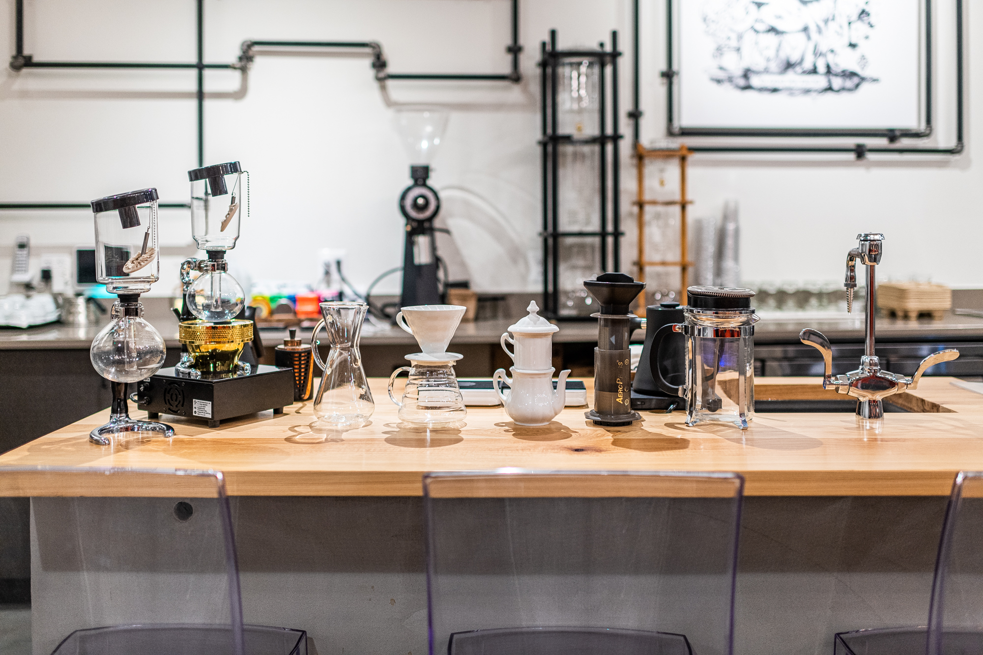 Sweet Science's New Tricked-Out Cafe in NoMa Is a Coffee Geek's Paradise