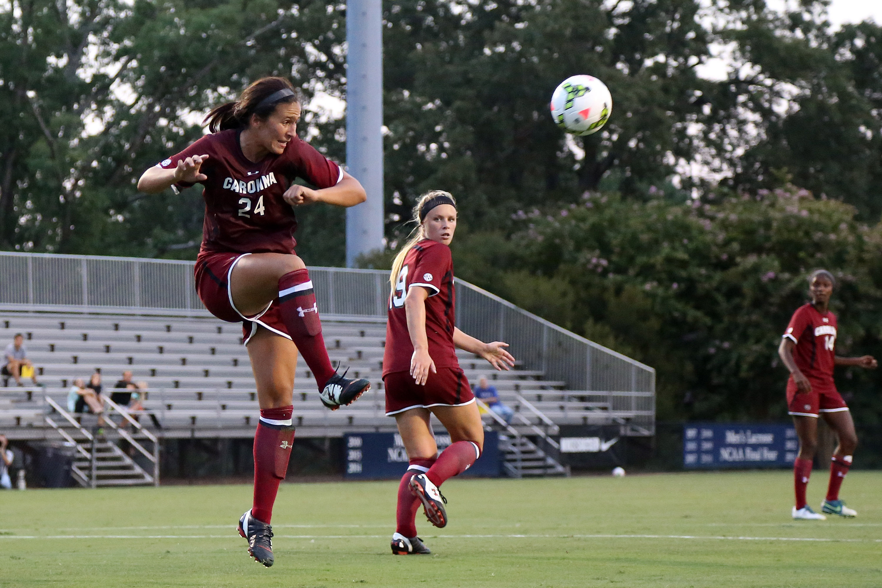 NCAA SOCCER: AUG 14 Exhibition - South Carolina at Duke